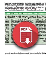 20 dicembre 2018  La GO TV di Telesia è nell'aeroporto Falcone e Borsellino di Palermo