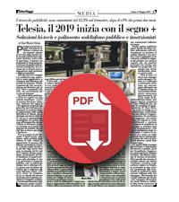 11 Maggio 20019  Telesia, il 2019 inizia con il segno +