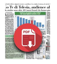 14 Giugno 2019  La Go Tv di Telesia, audience al top