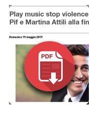 10 Maggio 2019  Telesia media-partner di Play Music Stop Violence, il contest contro la violenza