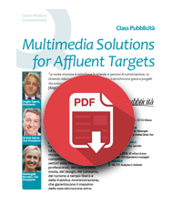 2 agosto 2019  Class Pubblicità -Multimedia Solutions for Affluent Targets