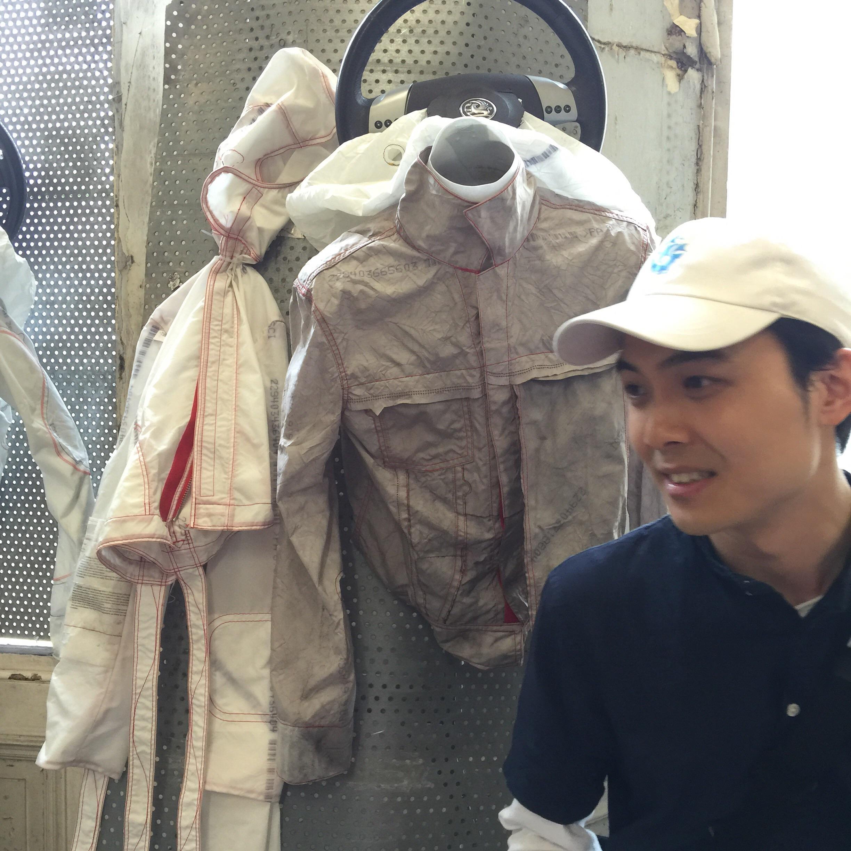 Kang Choi and his crash test dummies