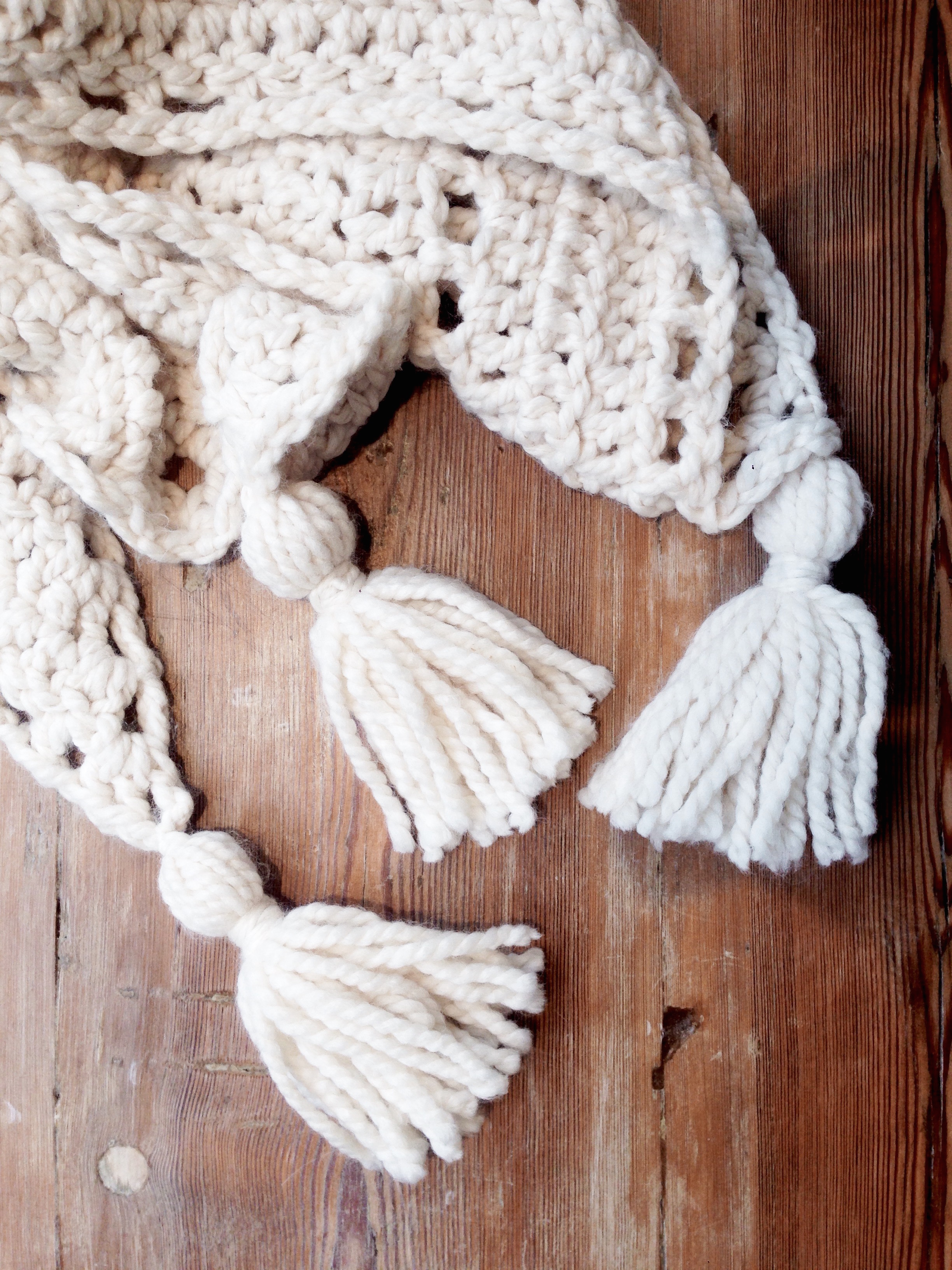 The Louisa Wrap crochet pattern by Two of Wands