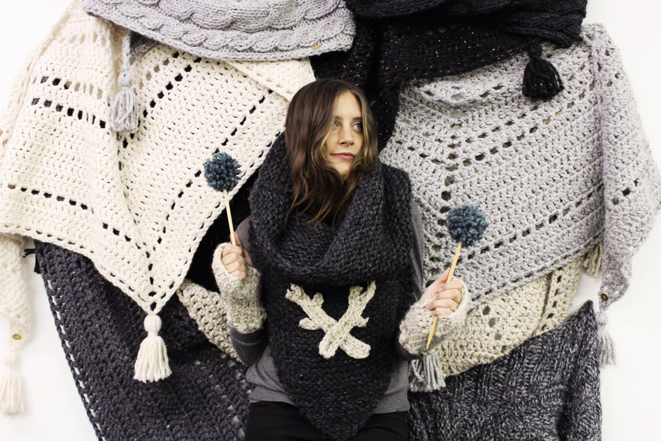 Yarn Hero Alexandra Tavel of Two of Wands