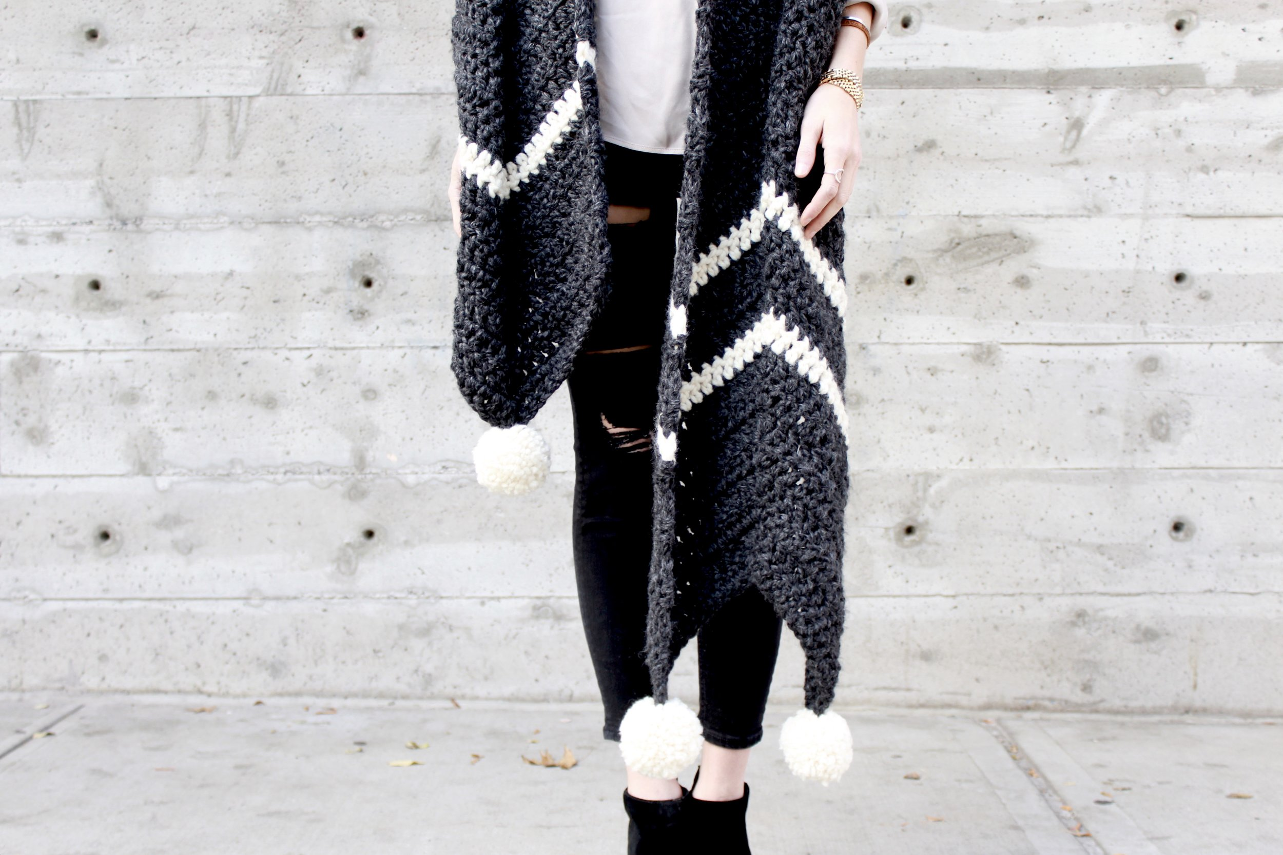 Columbia Chevron Super Scarf Pattern by Two of Wands
