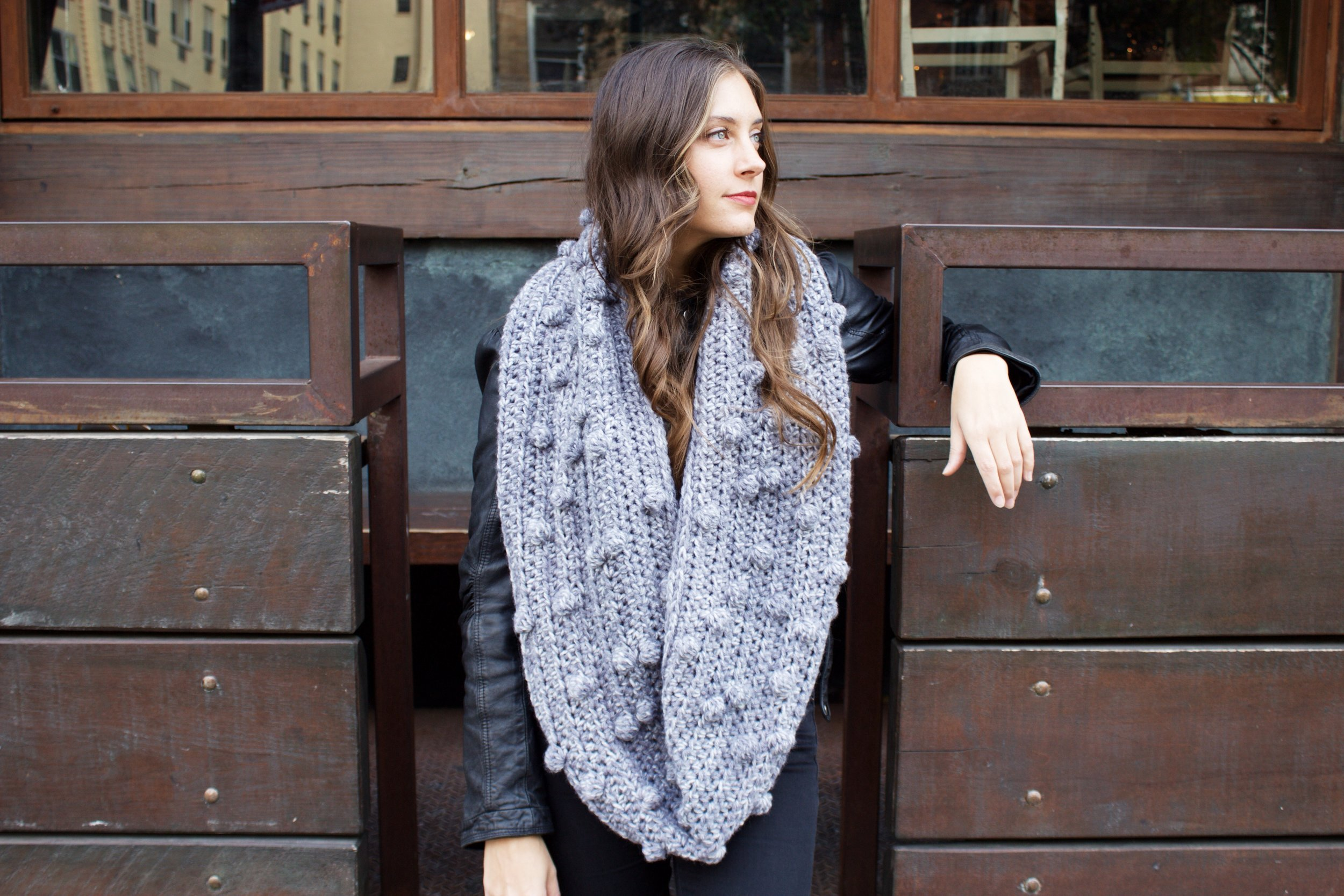 Frozen Lake Infinity Scarf Pattern by Two of Wands
