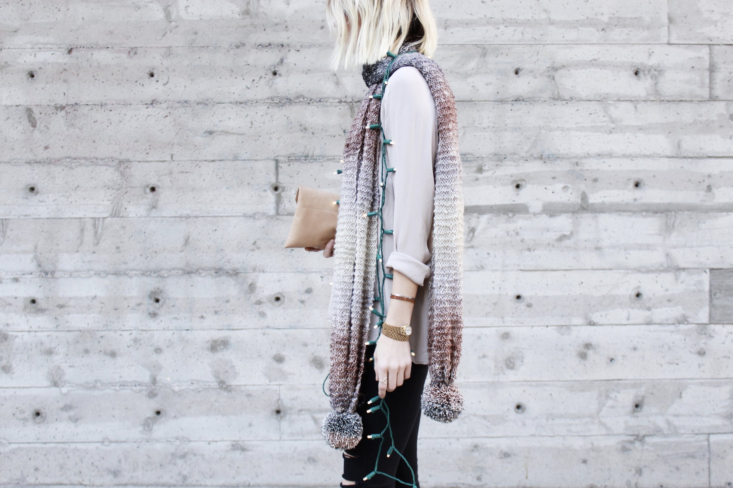Frozen Lake Infinity Scarf by Two of Wands