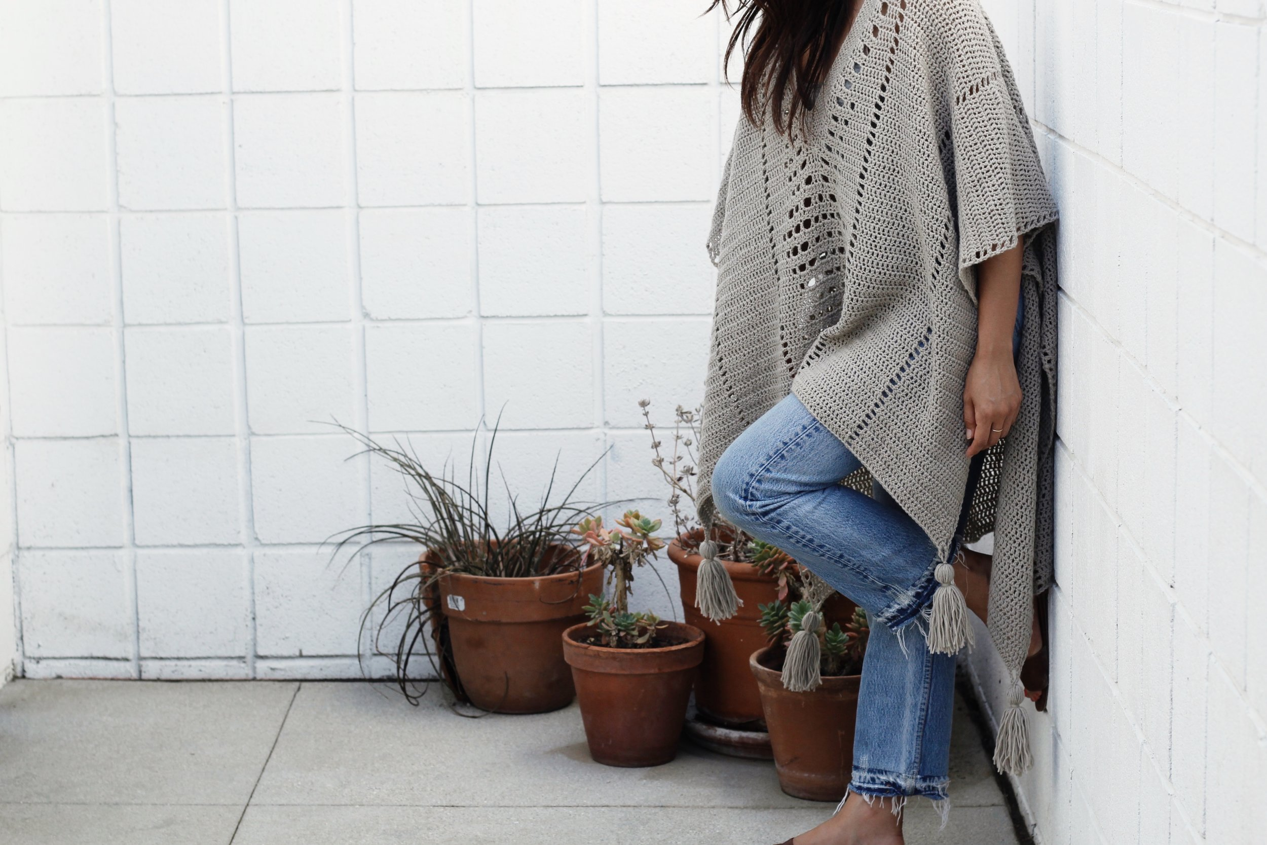 Cross Country Poncho by Two of Wands