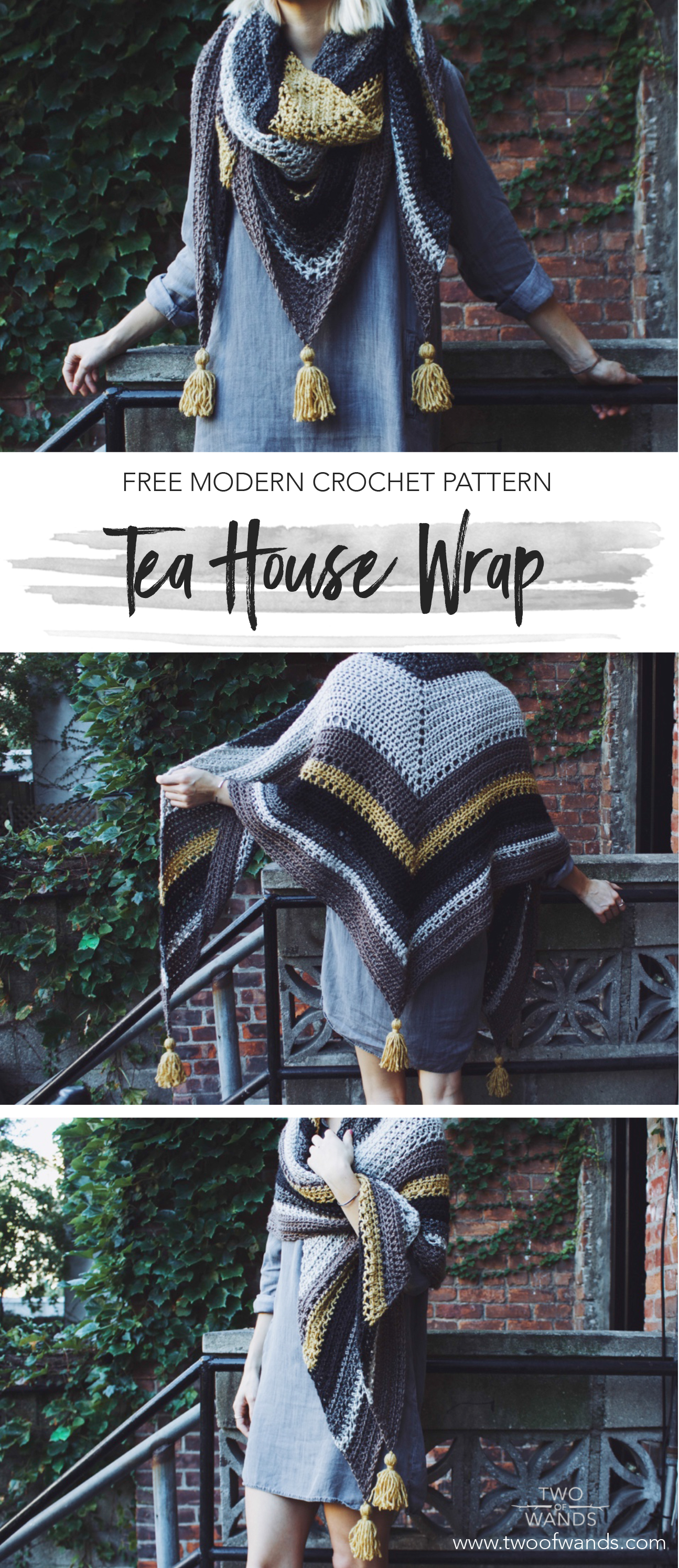 Tea House Wrap Pattern by Two of Wands