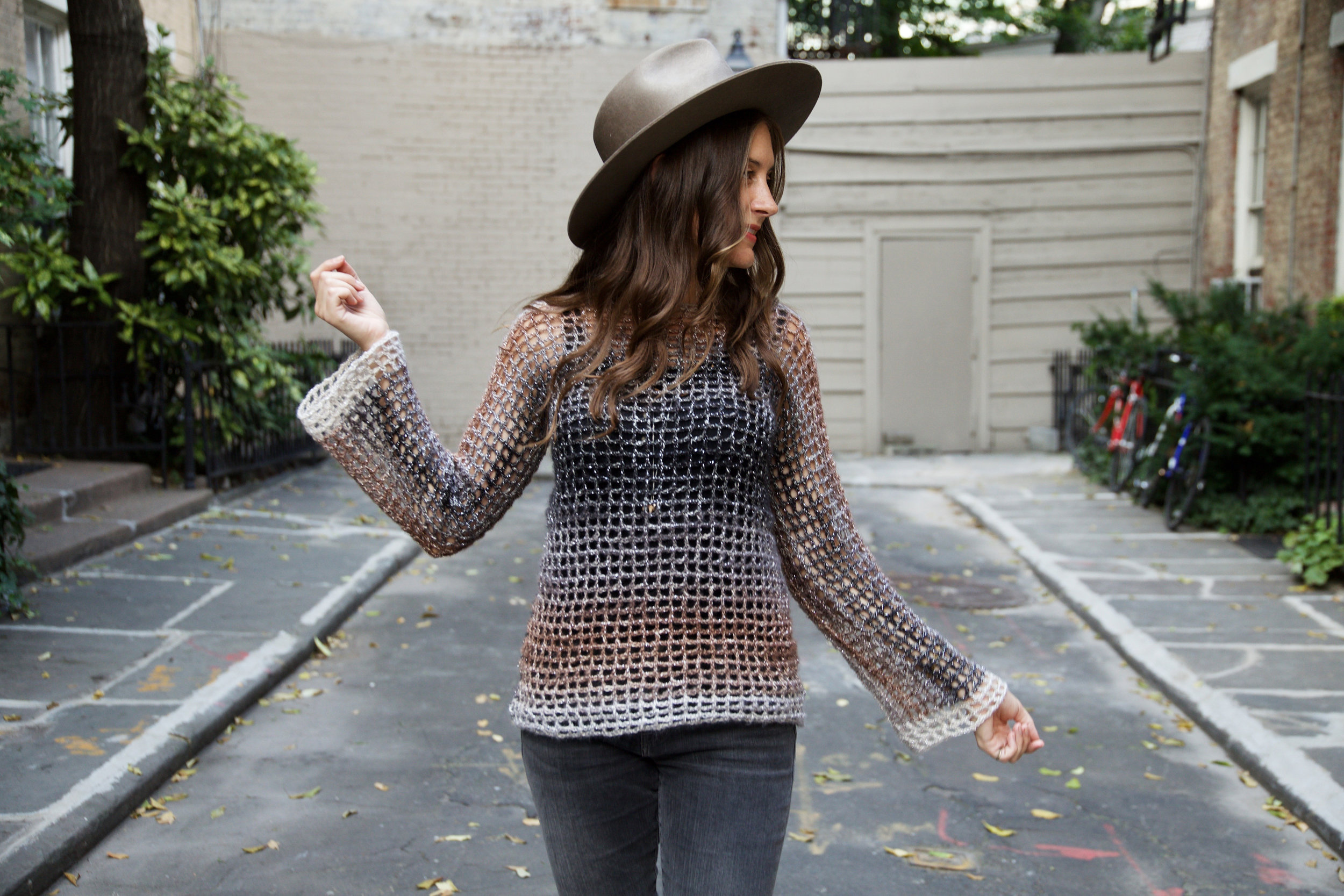 Night Lights Sweater pattern by Two of Wands