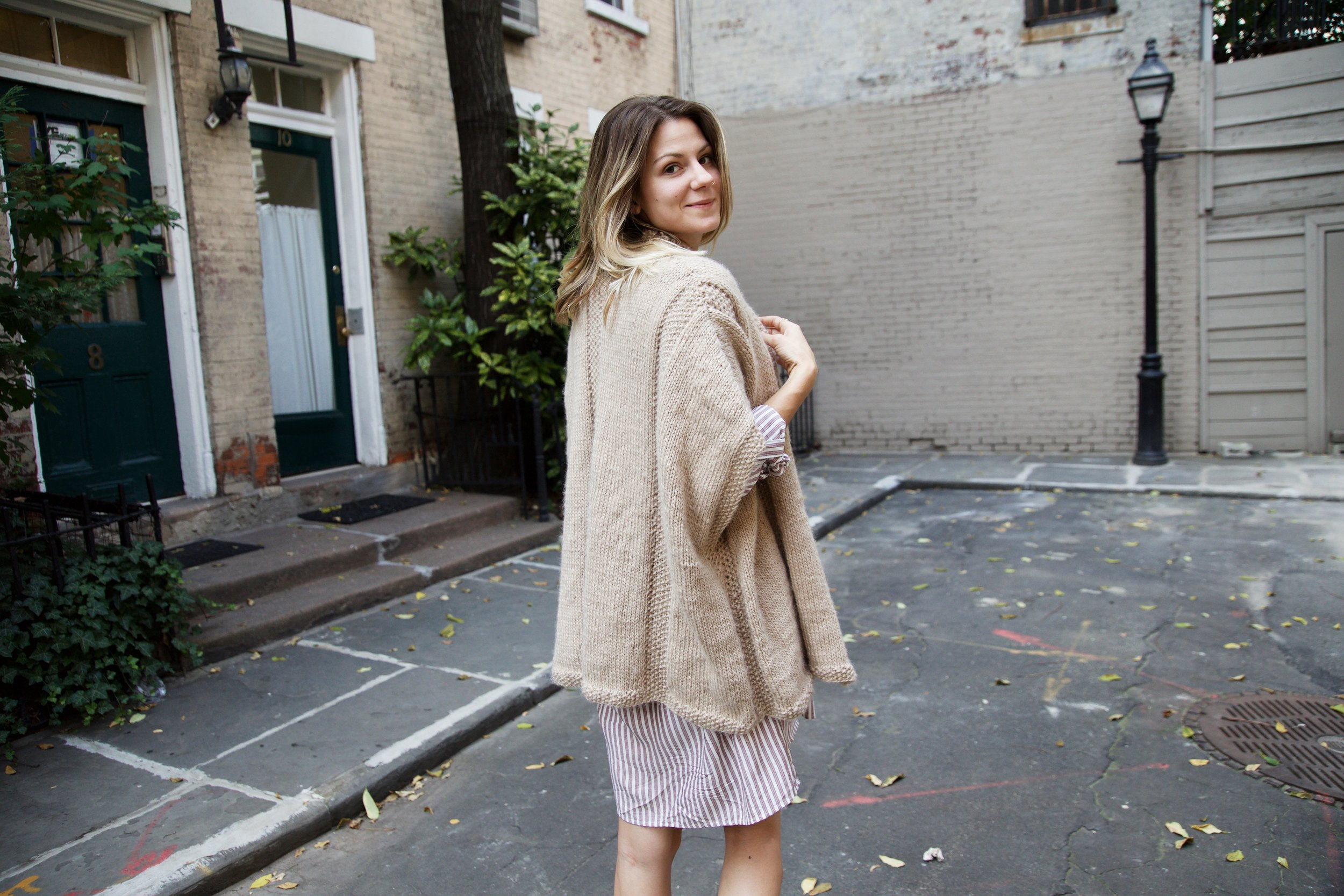 One Fine Day Cardigan Pattern by Two of Wands