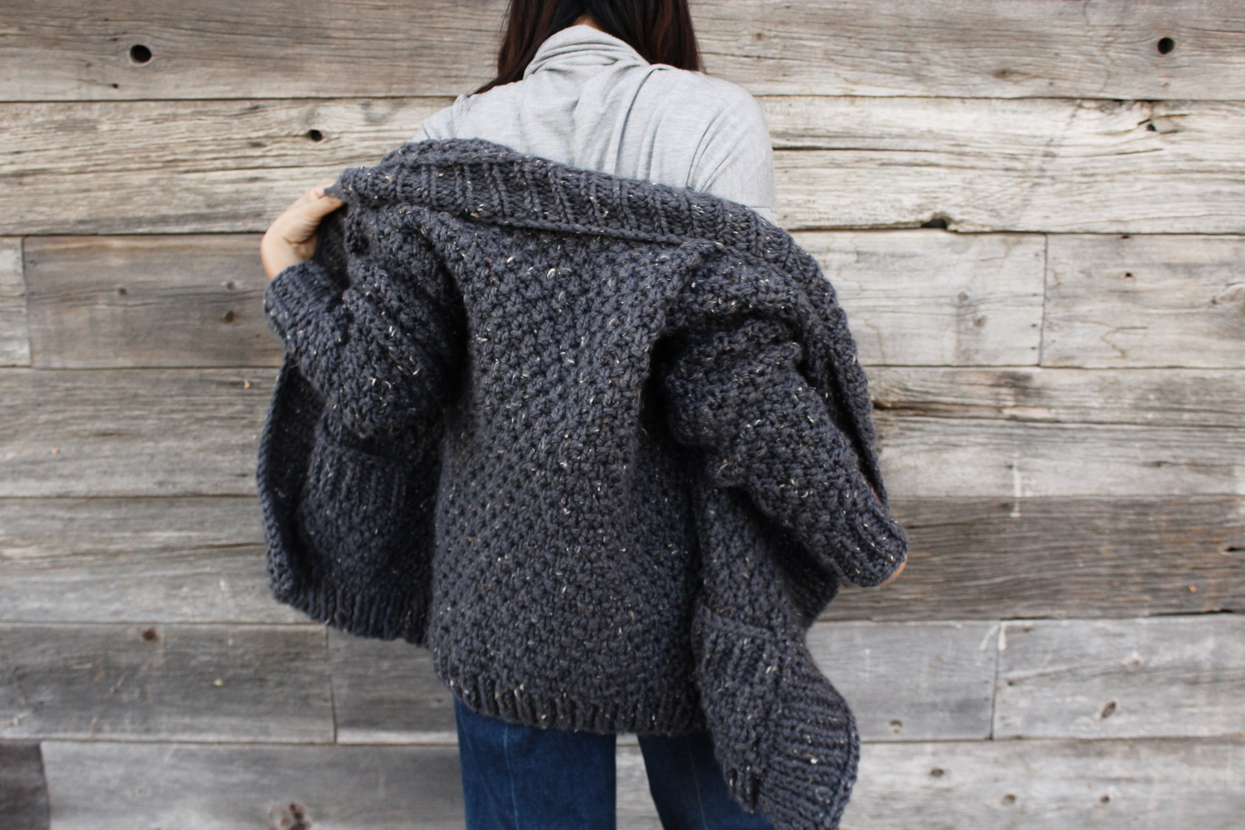Cliffside Cardigan Pattern by Two of Wands