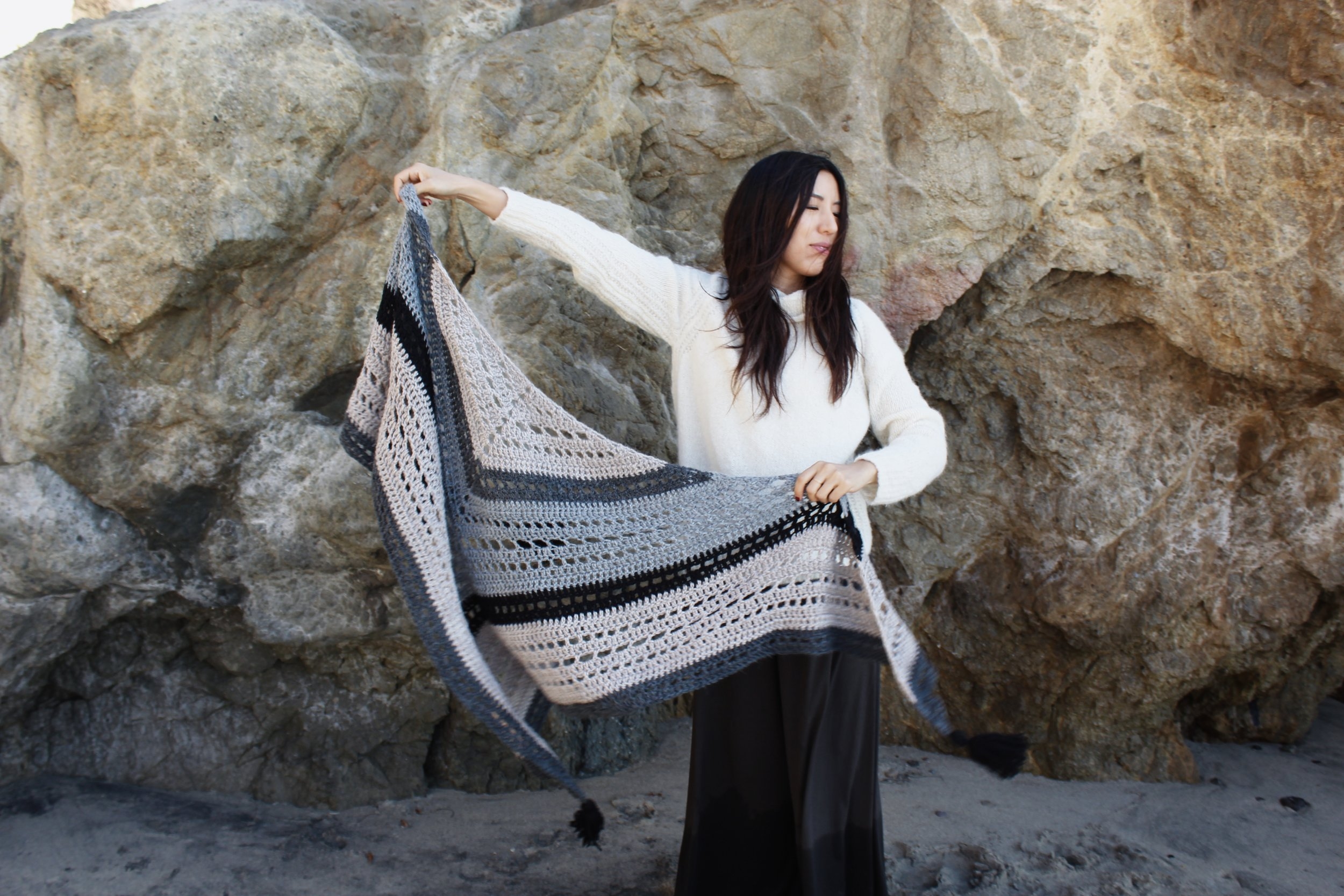 Mystic Morning Wrap Pattern by Two of Wands