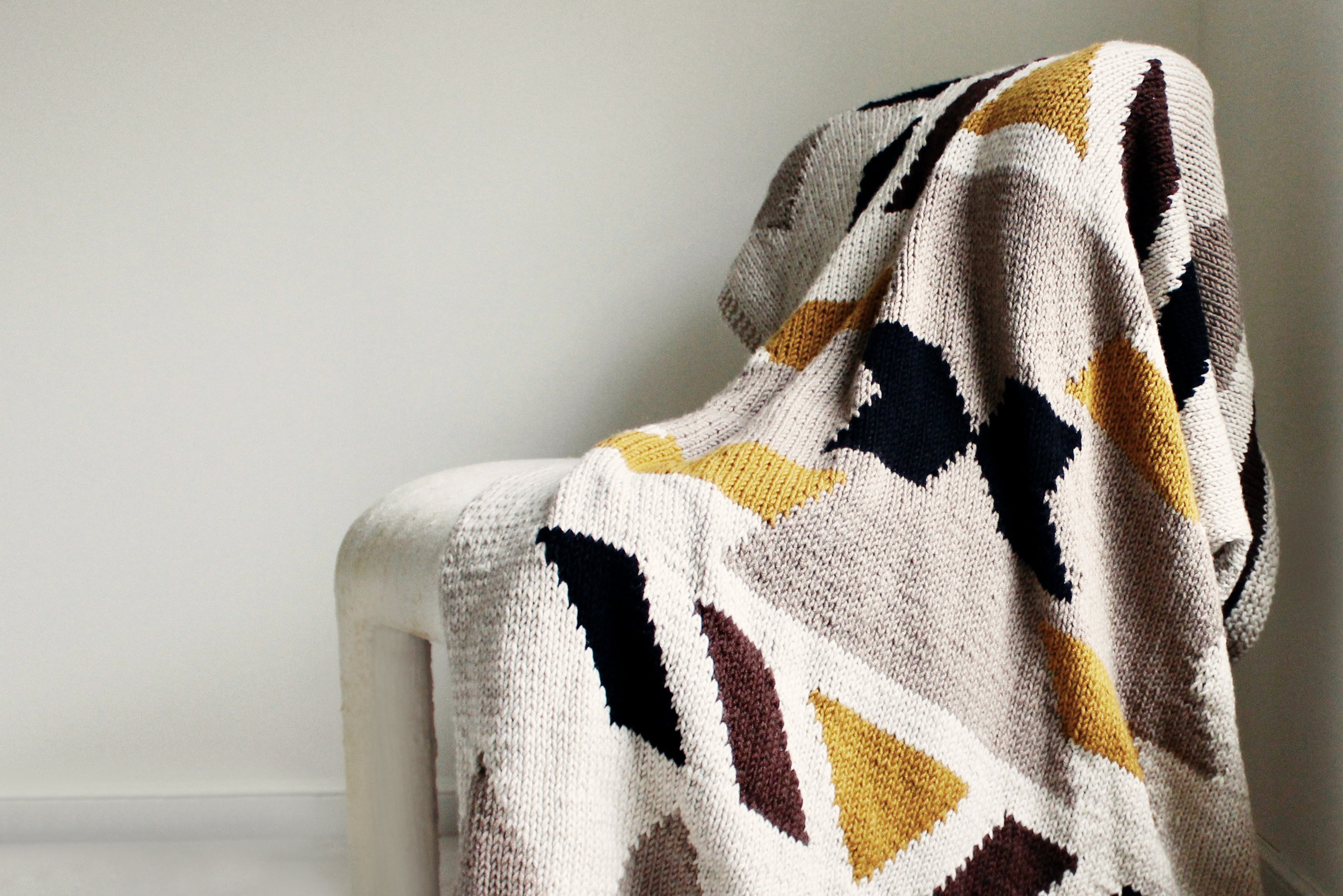 Kilim Blanket pattern by Two of Wands