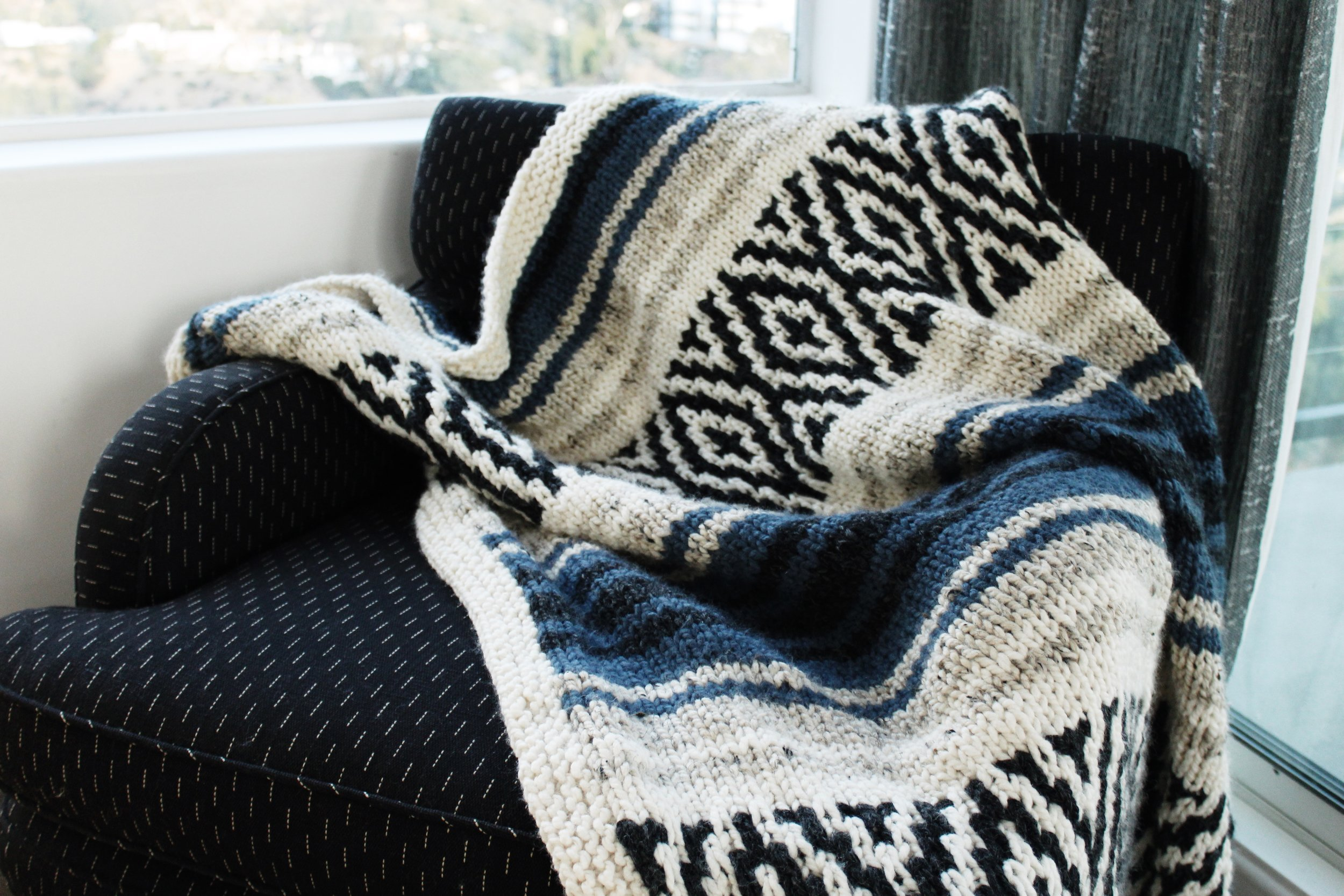 Mexican Blanket pattern by Two of Wands