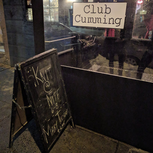 Club Cumming, 505 E 6th St in the East Village.