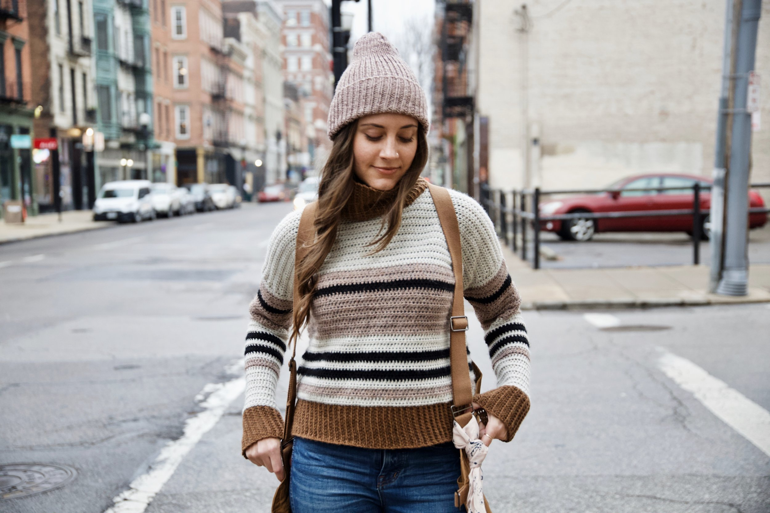 Mount Tremper Sweater pattern by Two of Wands