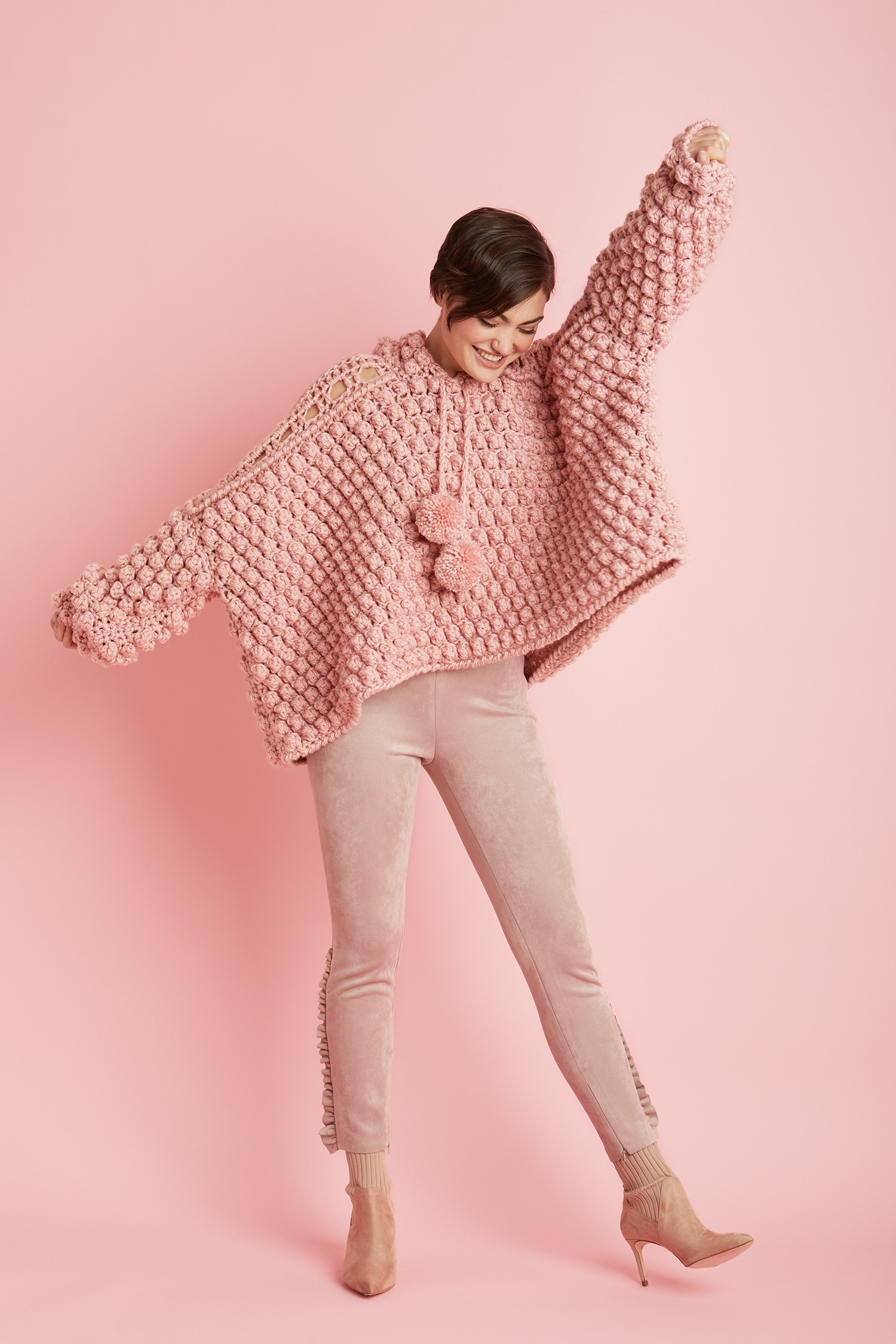 Pink Popover by Lion Brand
