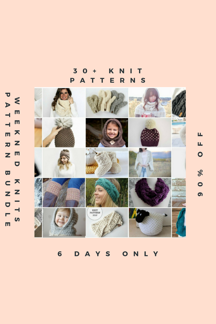 Weekend Knits Pattern Bundle