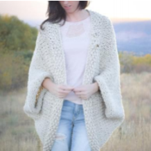 Easy Knit Cardigan by Mama In A Stitch