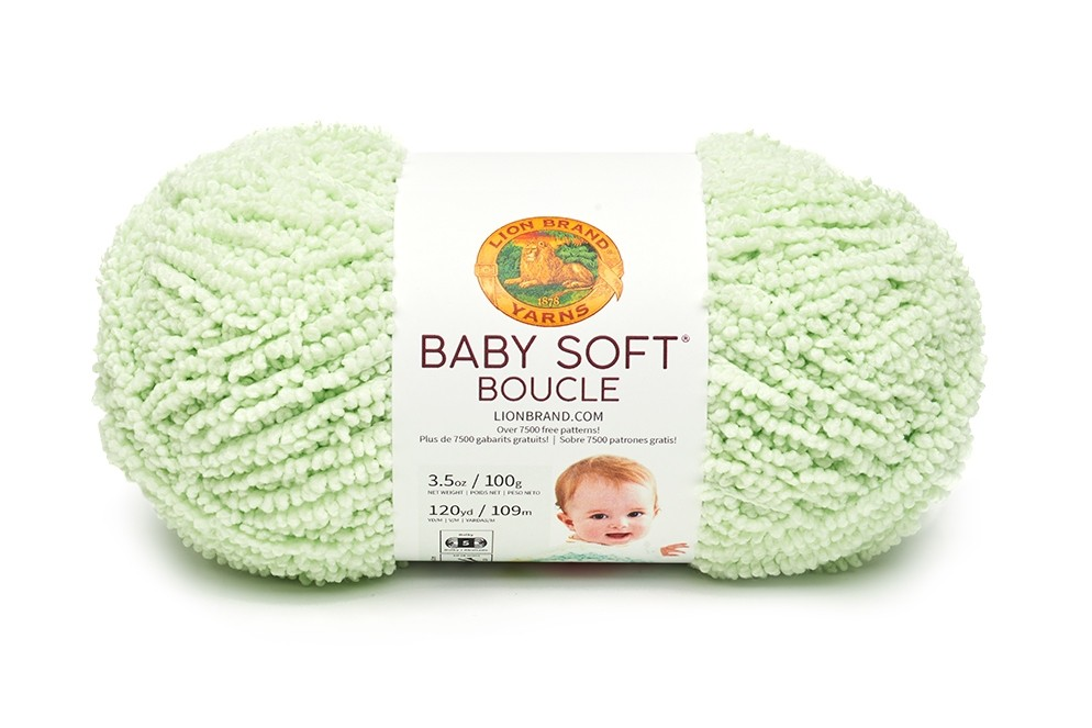 Baby Soft Boucle in Sprout