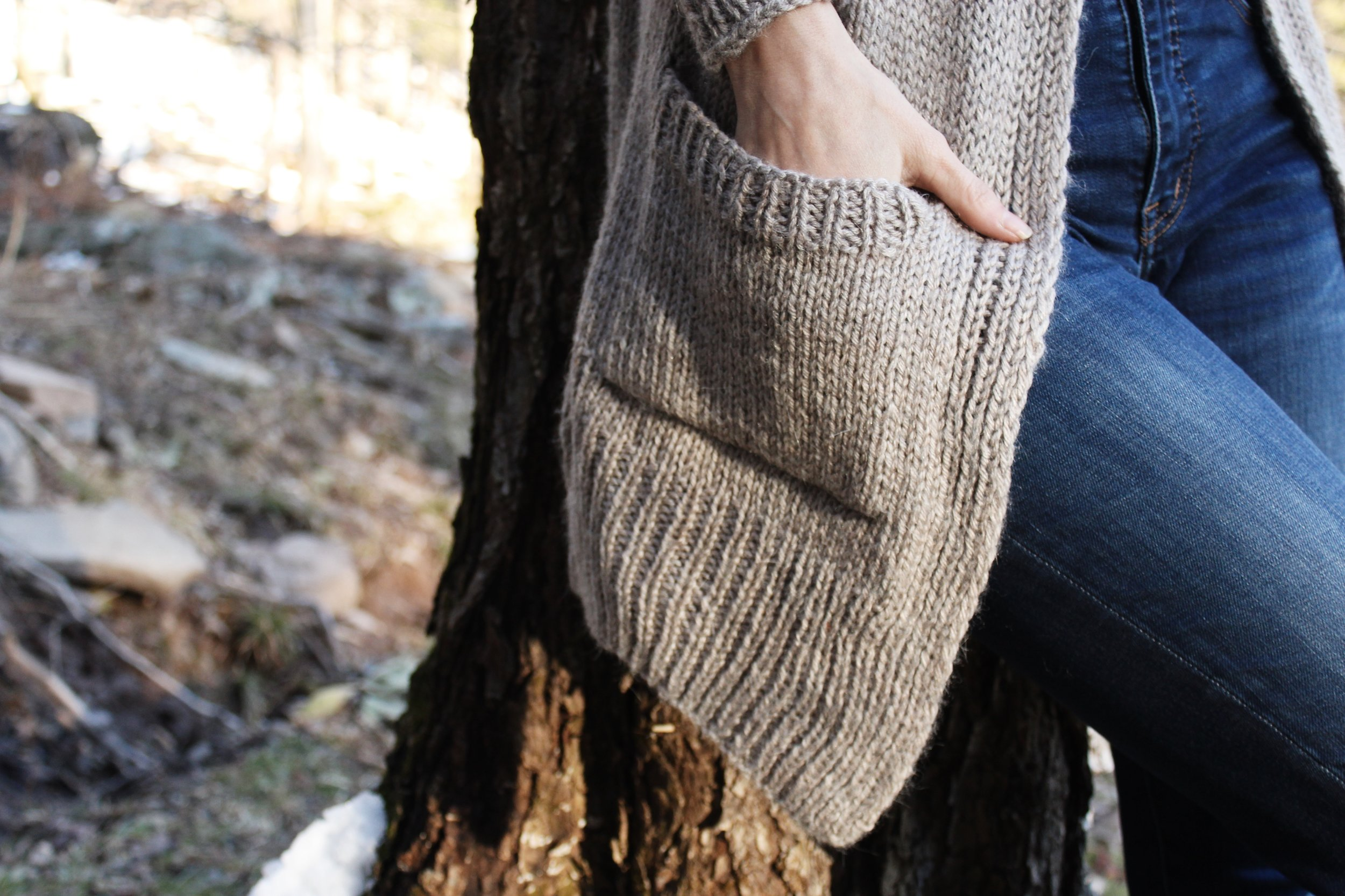 Lillian Cardigan pattern by Two of Wands