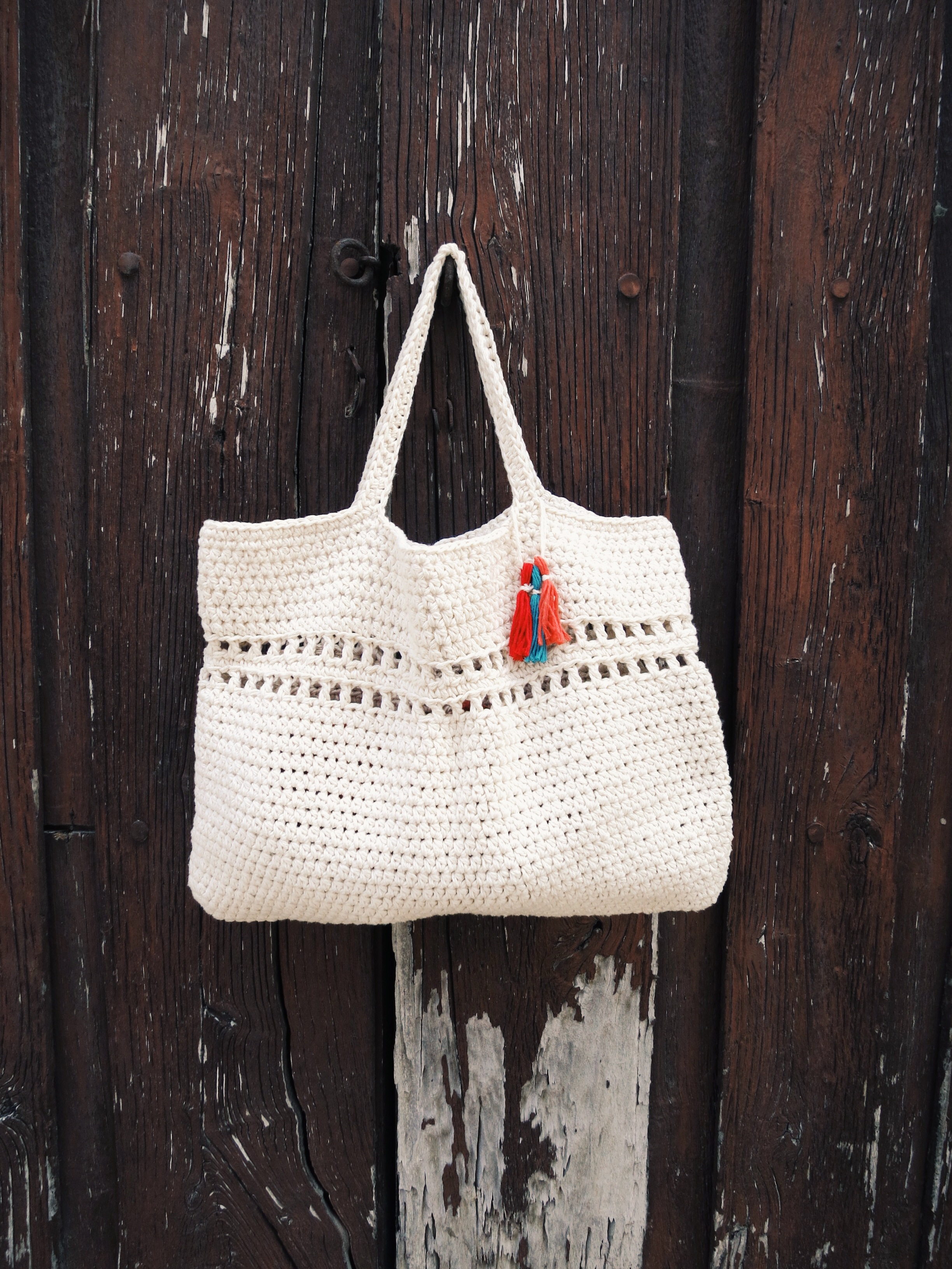 Day Tripper Bag Pattern by Two of Wands