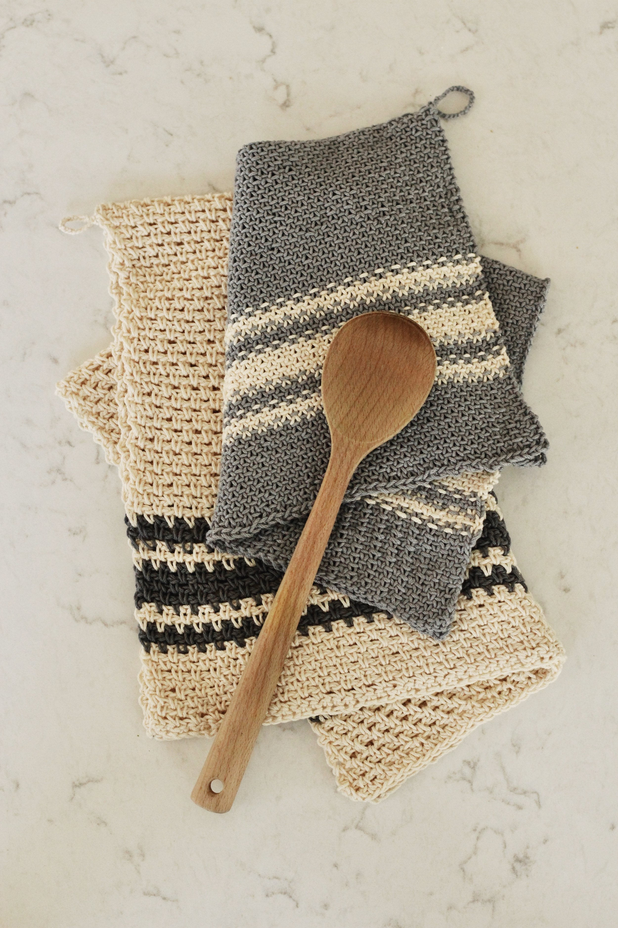 Alsace Tea Towel pattern by Two of Wands