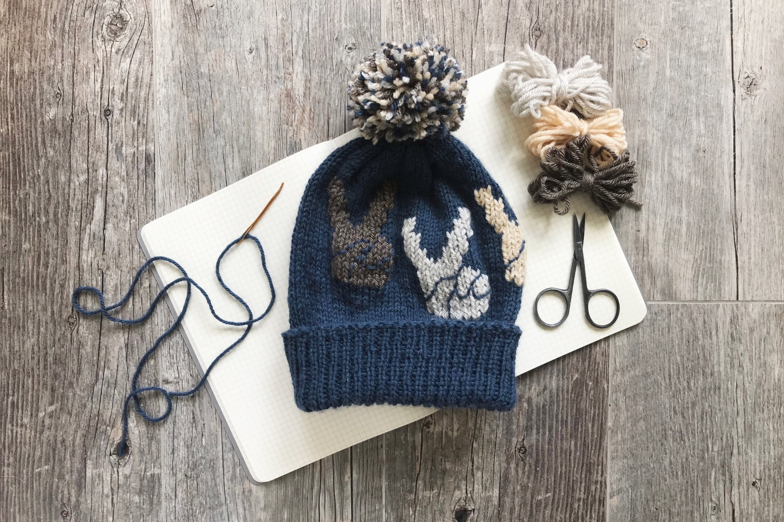 Peace Hat pattern by Two of Wands