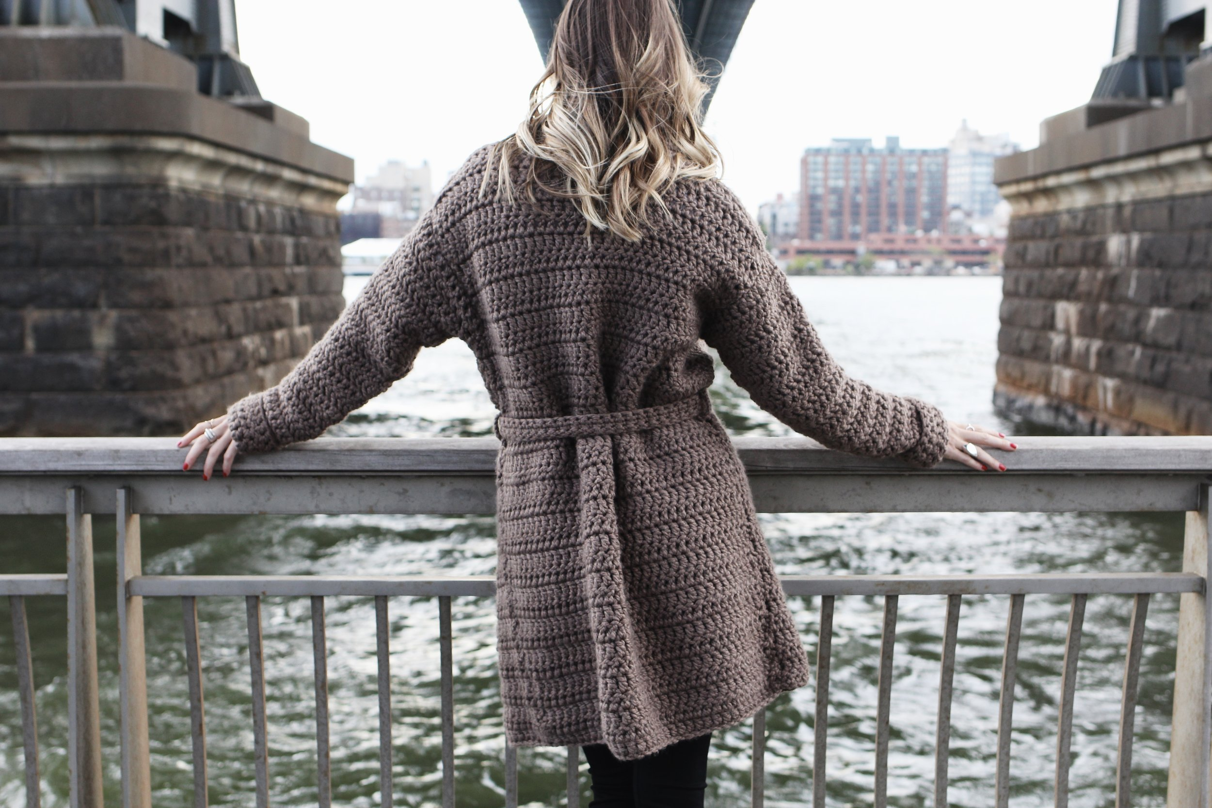 Tribeca Trench Coat Pattern by Two of Wands
