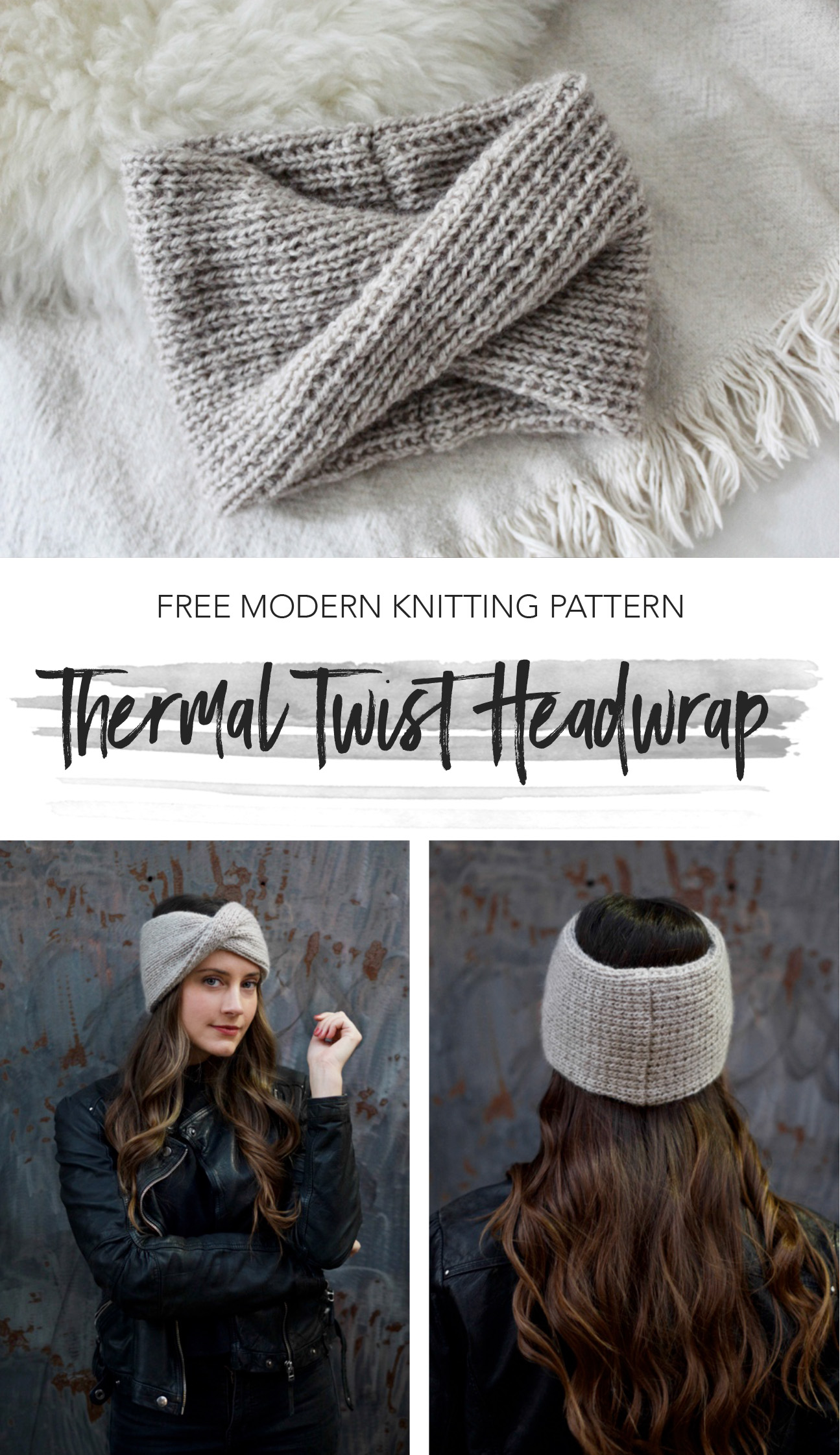 Thermal Twist Headwrap pattern by Two of Wands