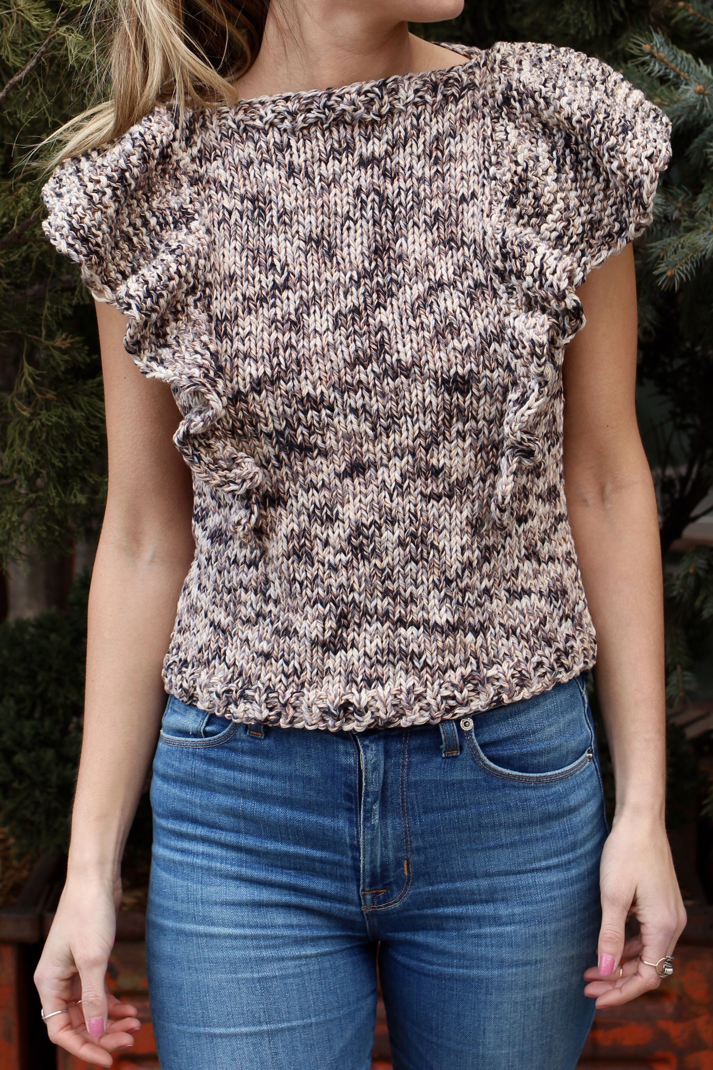 Flutter Top pattern by Two of Wands