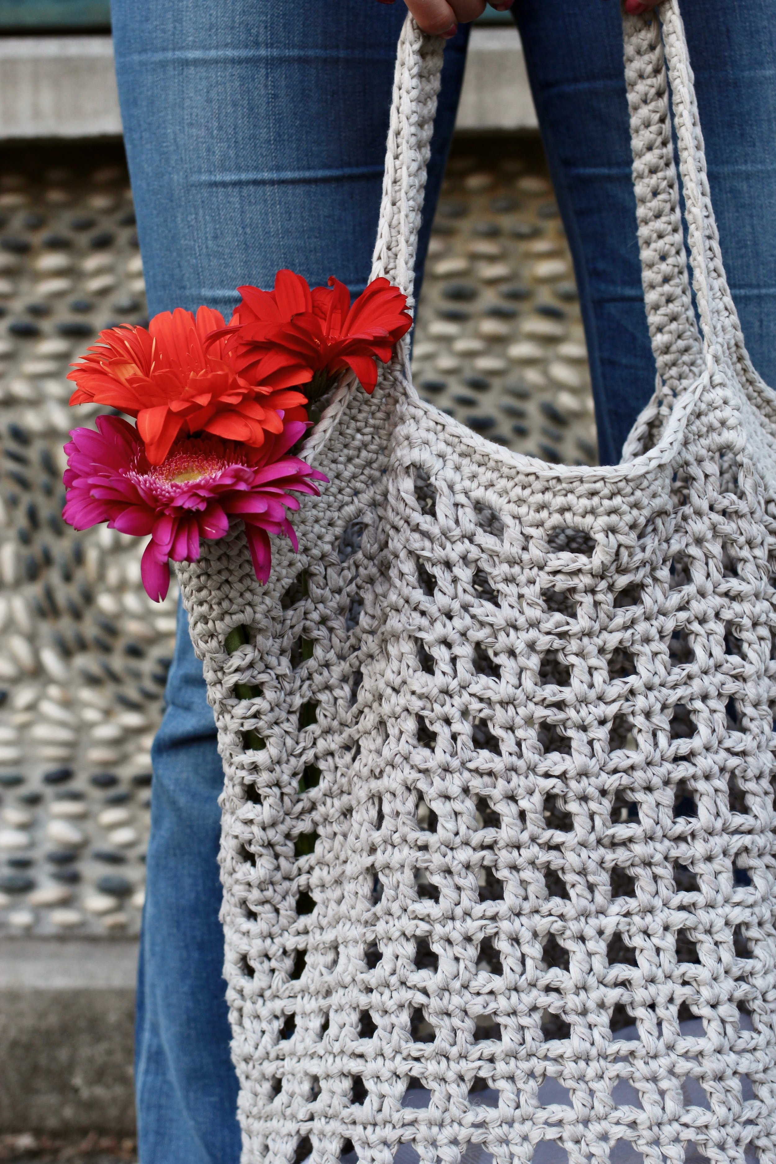 Janey Basket Bag pattern by Two of Wands