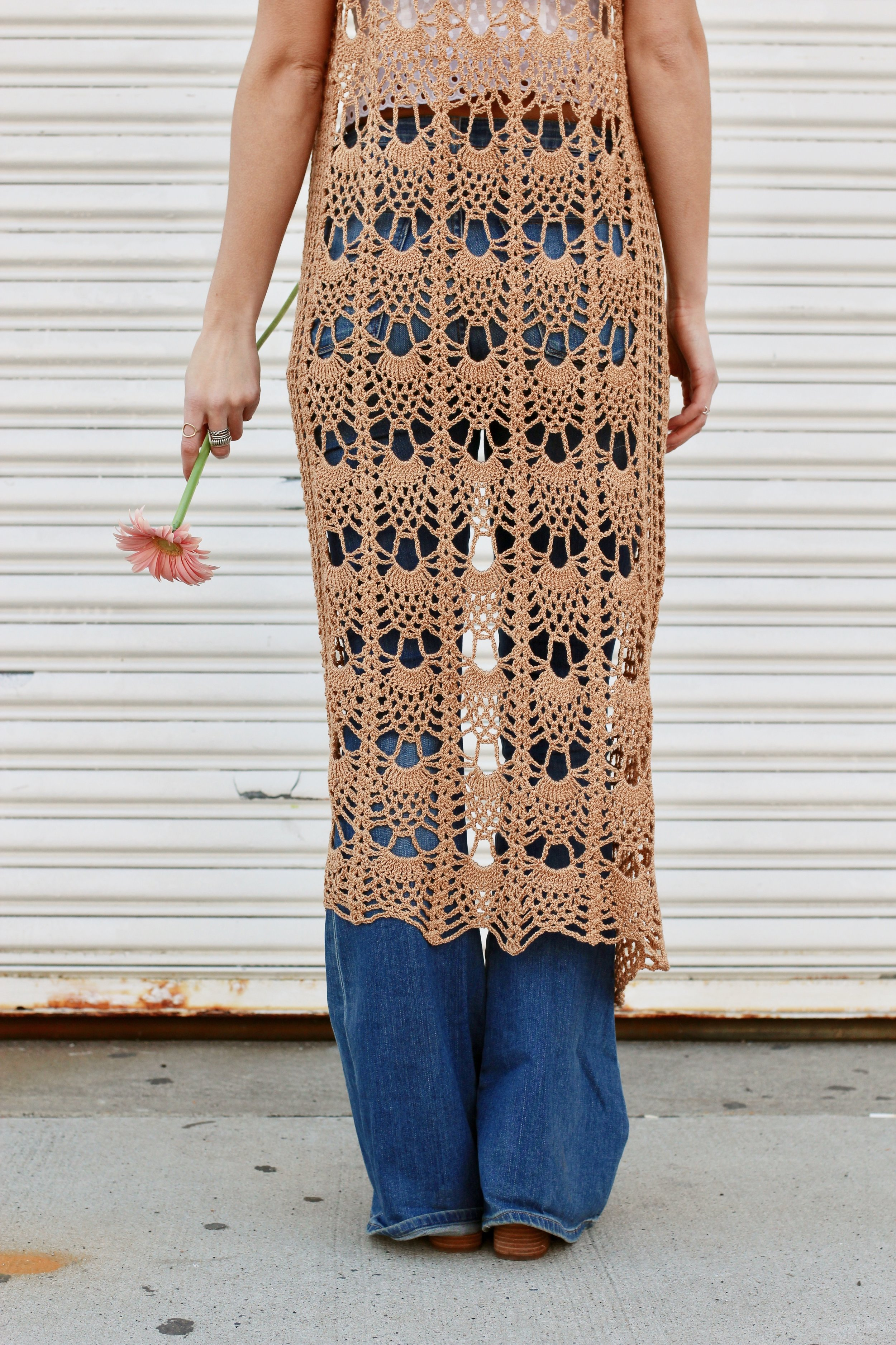 Willow Lace Vest pattern by Two of Wands