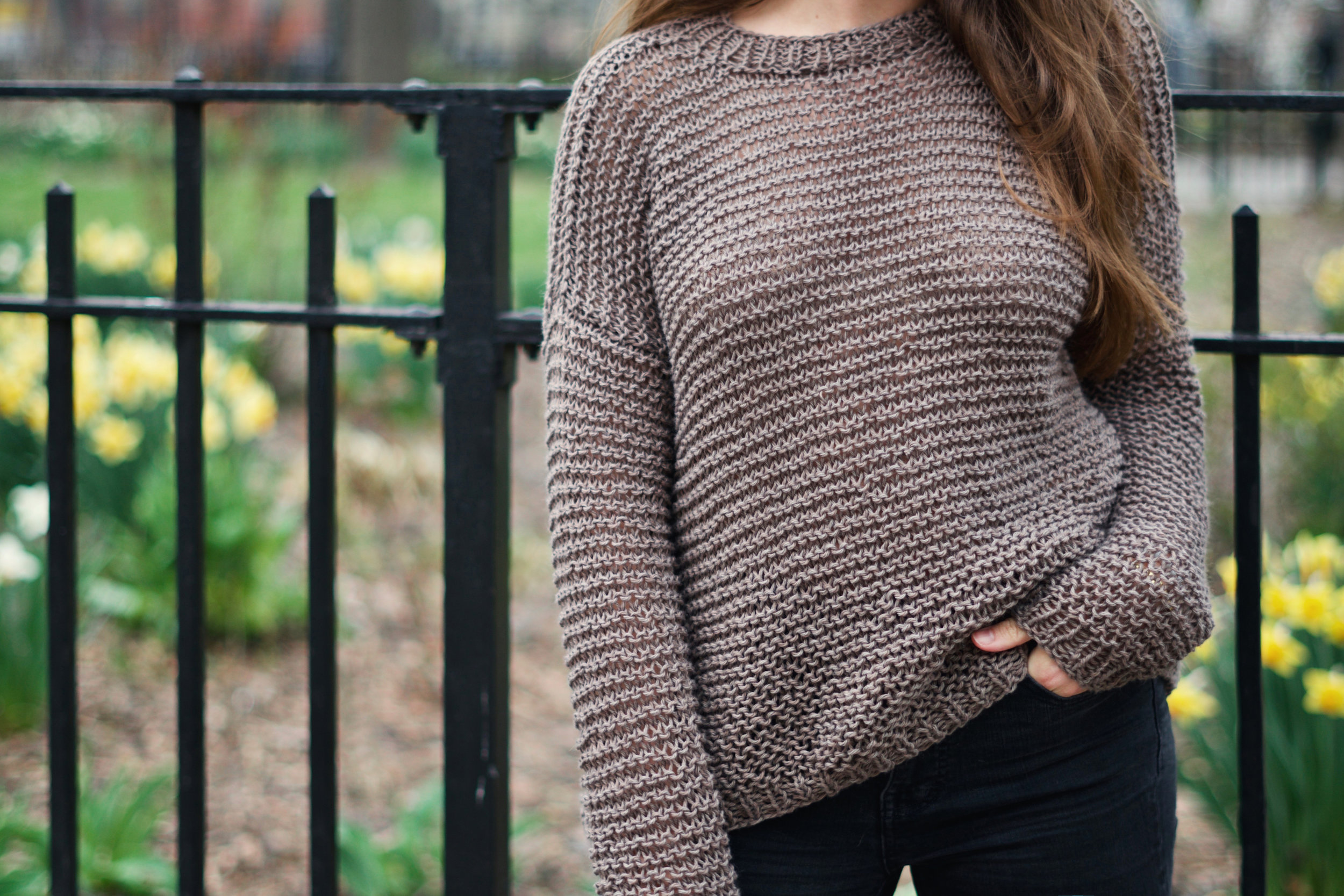 Spring Breeze Sweater pattern by Two of Wands