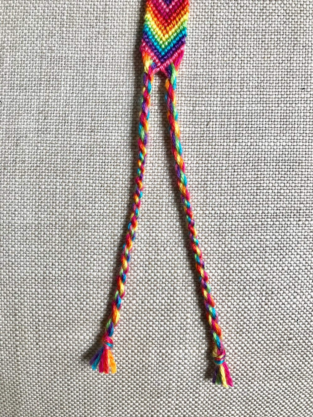 24. Repeat steps 20-23 to create the second rope tie.