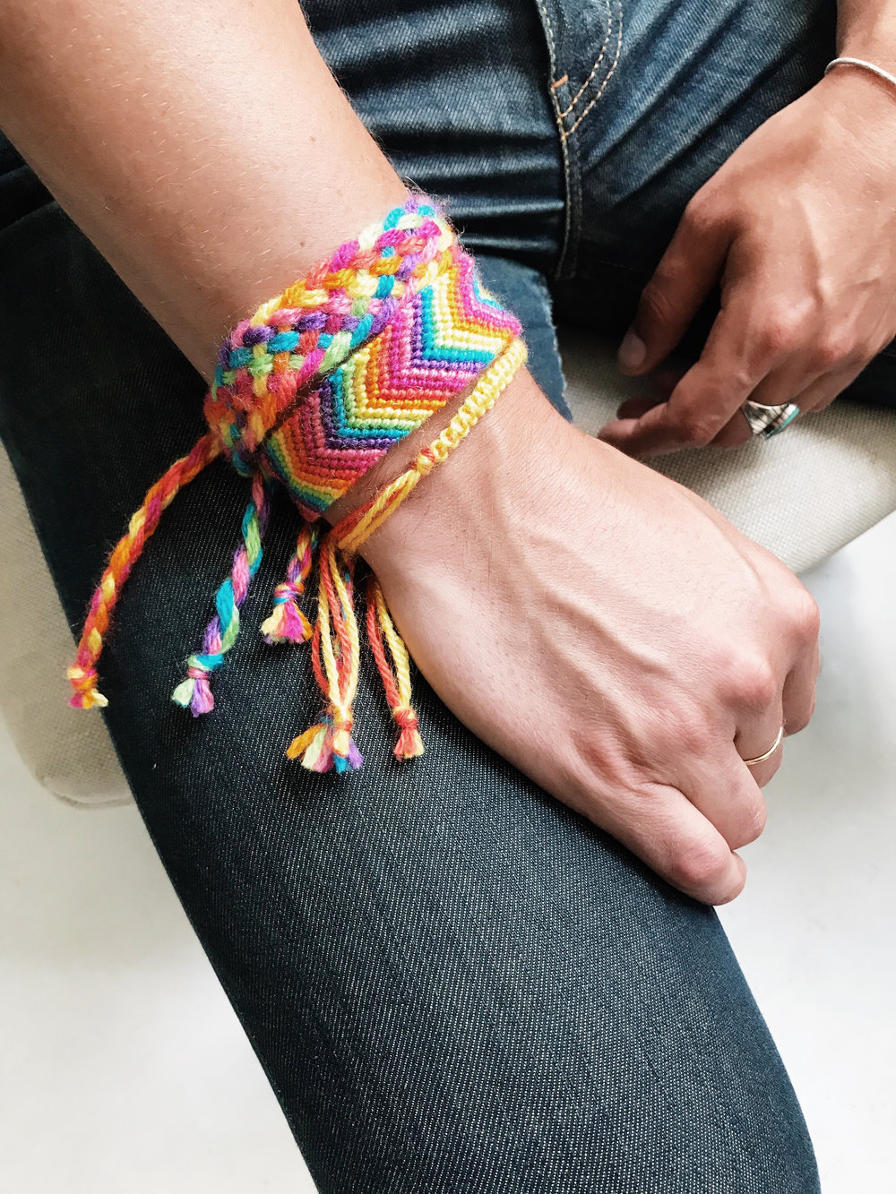 Pride Bracelets by Two of Wands