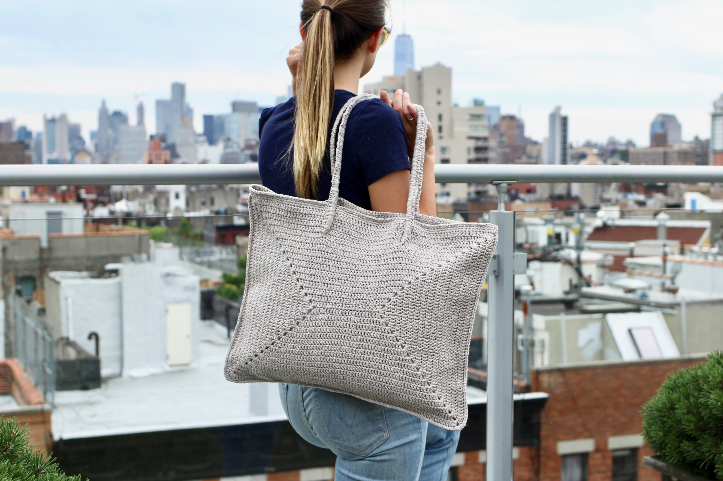 Freeport Tote pattern by Two of Wands