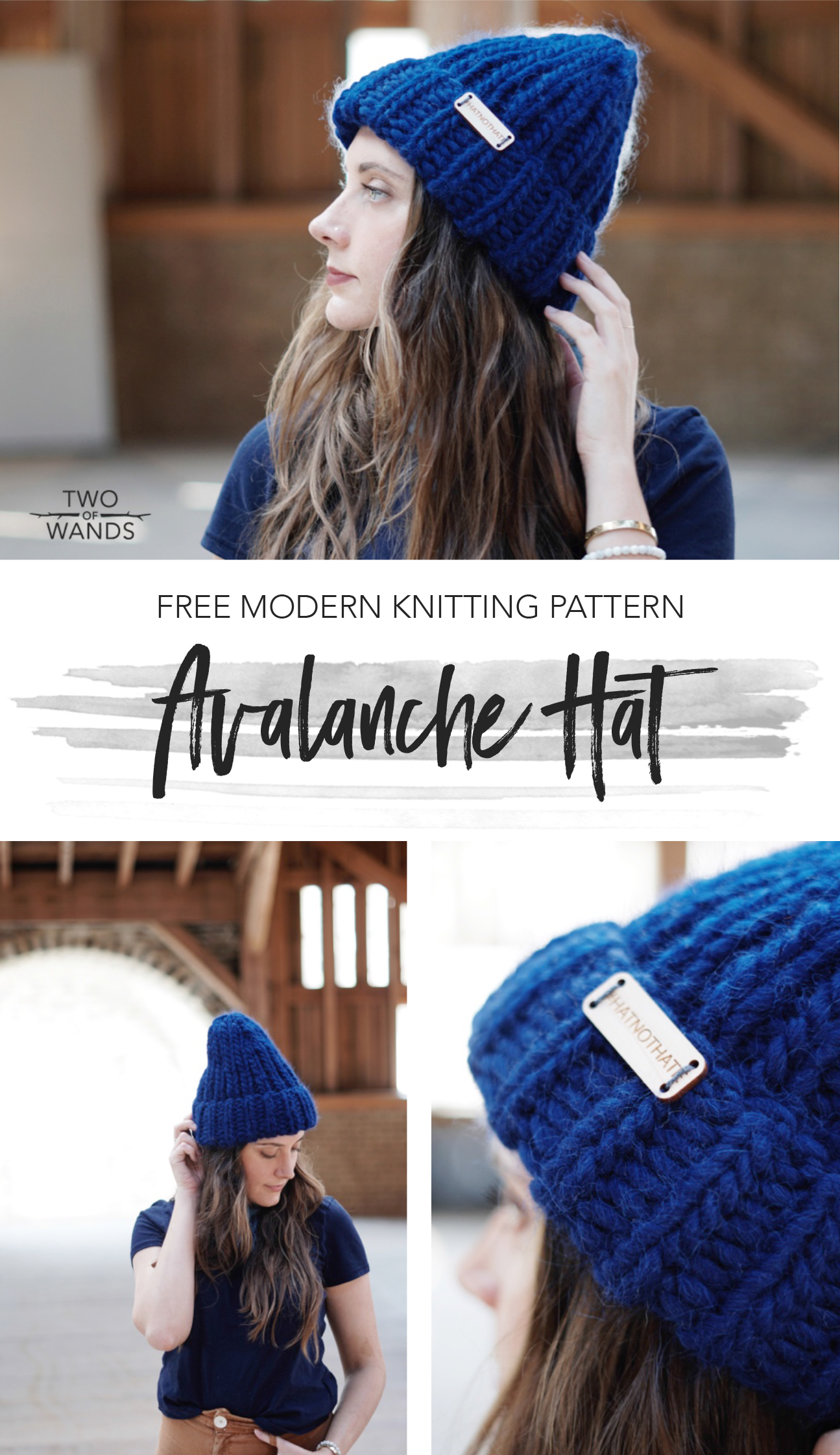 Avalanche Hat pattern by Two of Wands