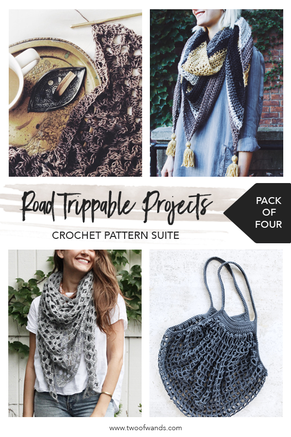Road Trippable Projects Crochet Pattern Suite