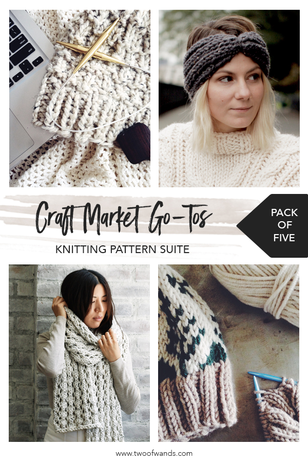Market Go Tos Knitting Pattern Suite by Two of Wands