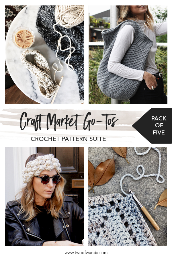 Market Go Tos Crochet Pattern Suite by Two of Wands