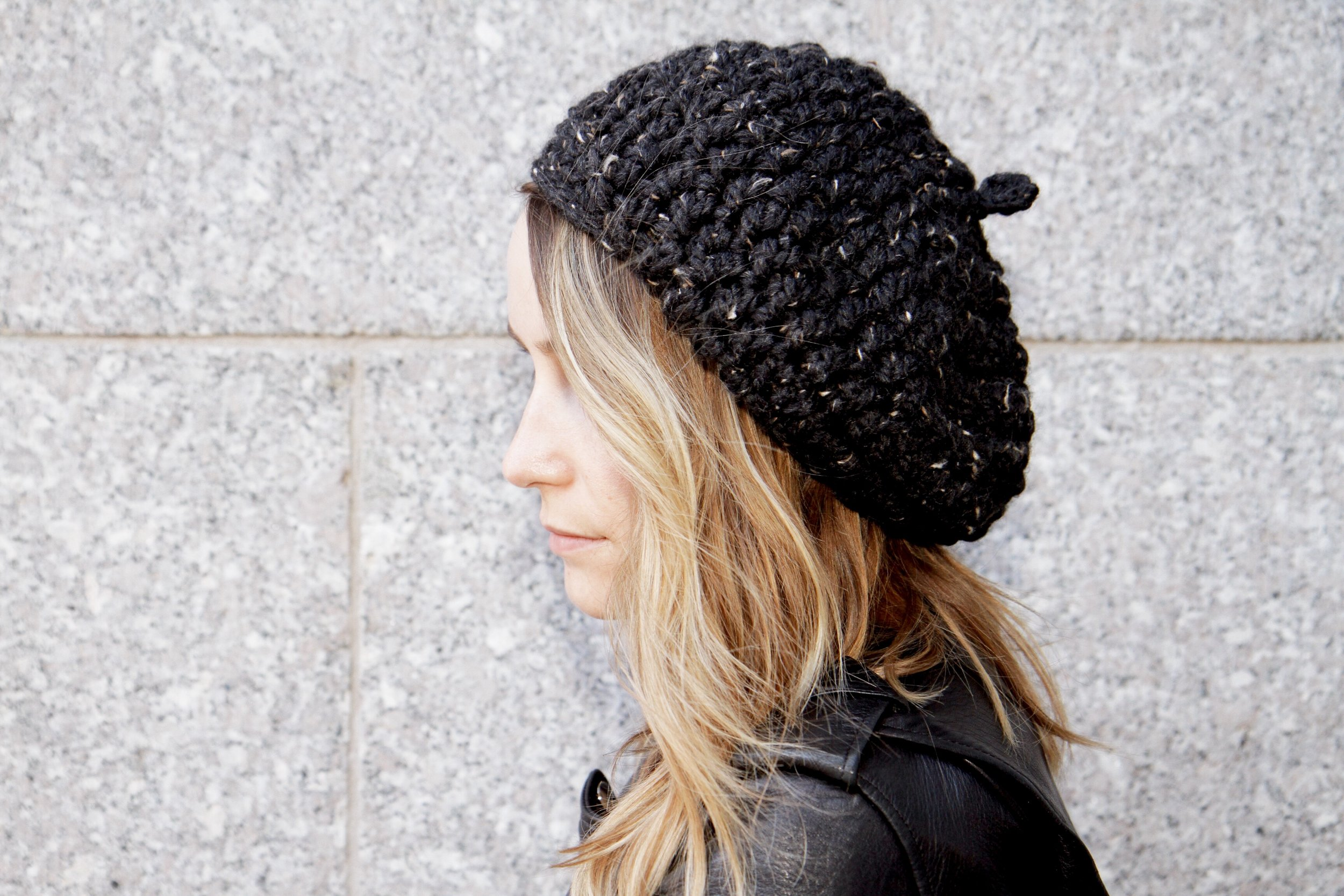Rochelle Beret Pattern by Two of Wands