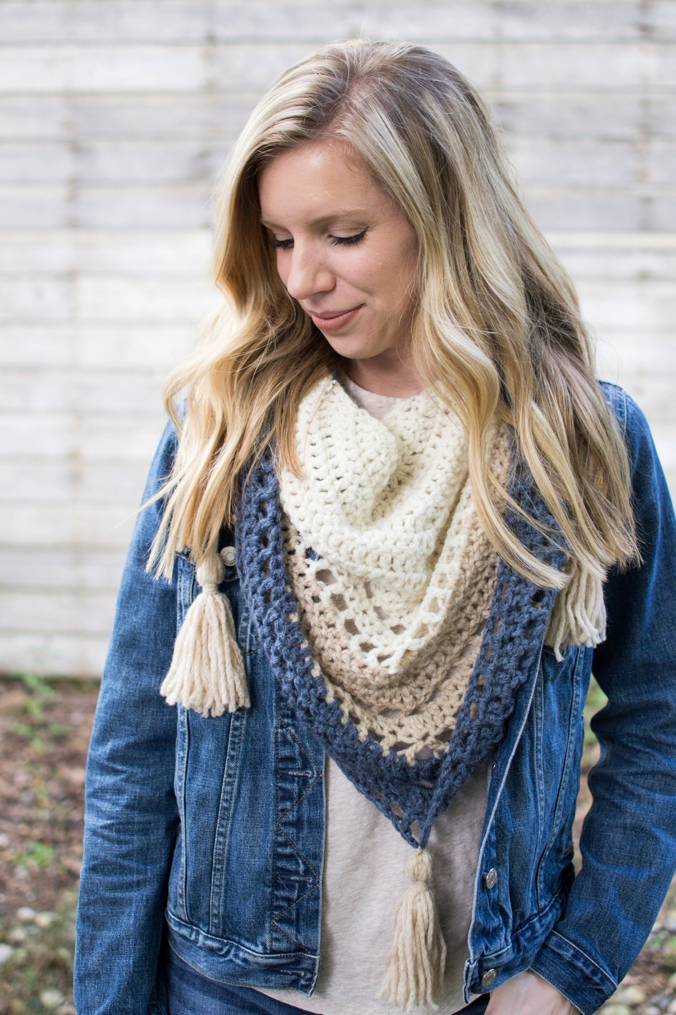 Balance Shawl by Woods and Wool