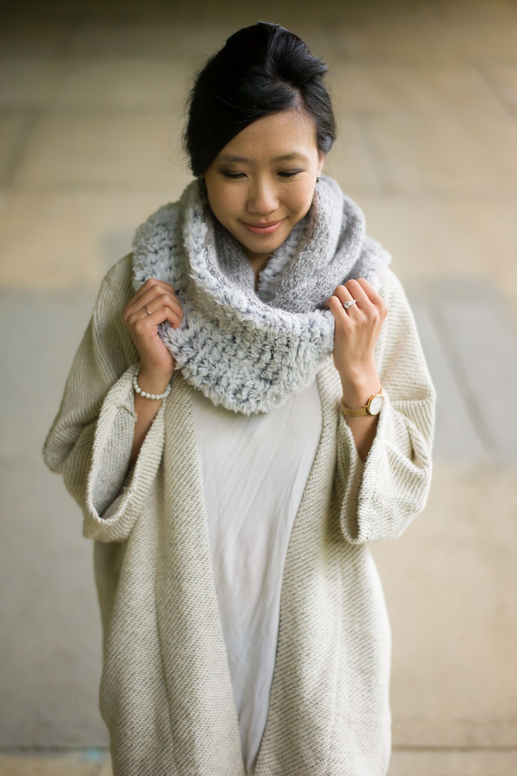 Luxe Faux Fur Cowl by All About Ami