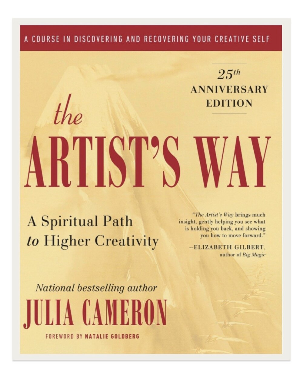 A self help book of sorts, this classic work discusses tuning into one's creativity to gain confidence and purpose.