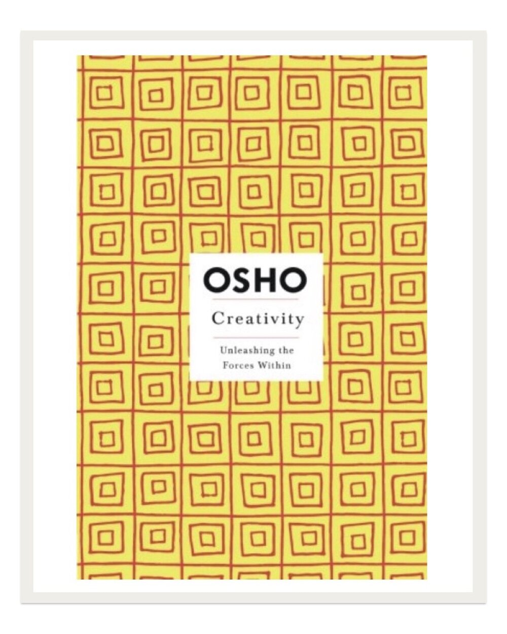 Probably my favorite book that discusses creativity, Osho uses simple metaphors to drive home complex concepts about finding and honing one's creative direction.