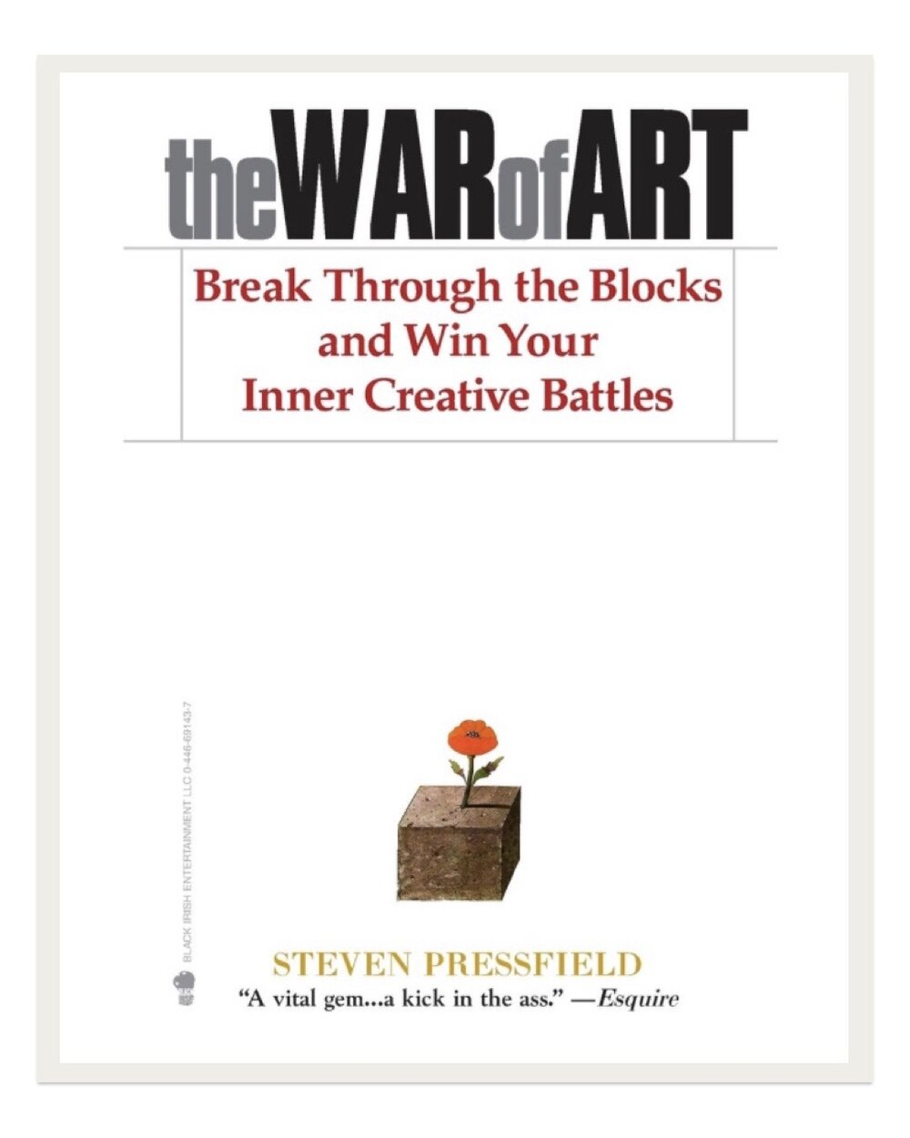 Another favorite amongst all types of artists, this book discusses breaking through barriers to get past creative blocks and into creative freedom.