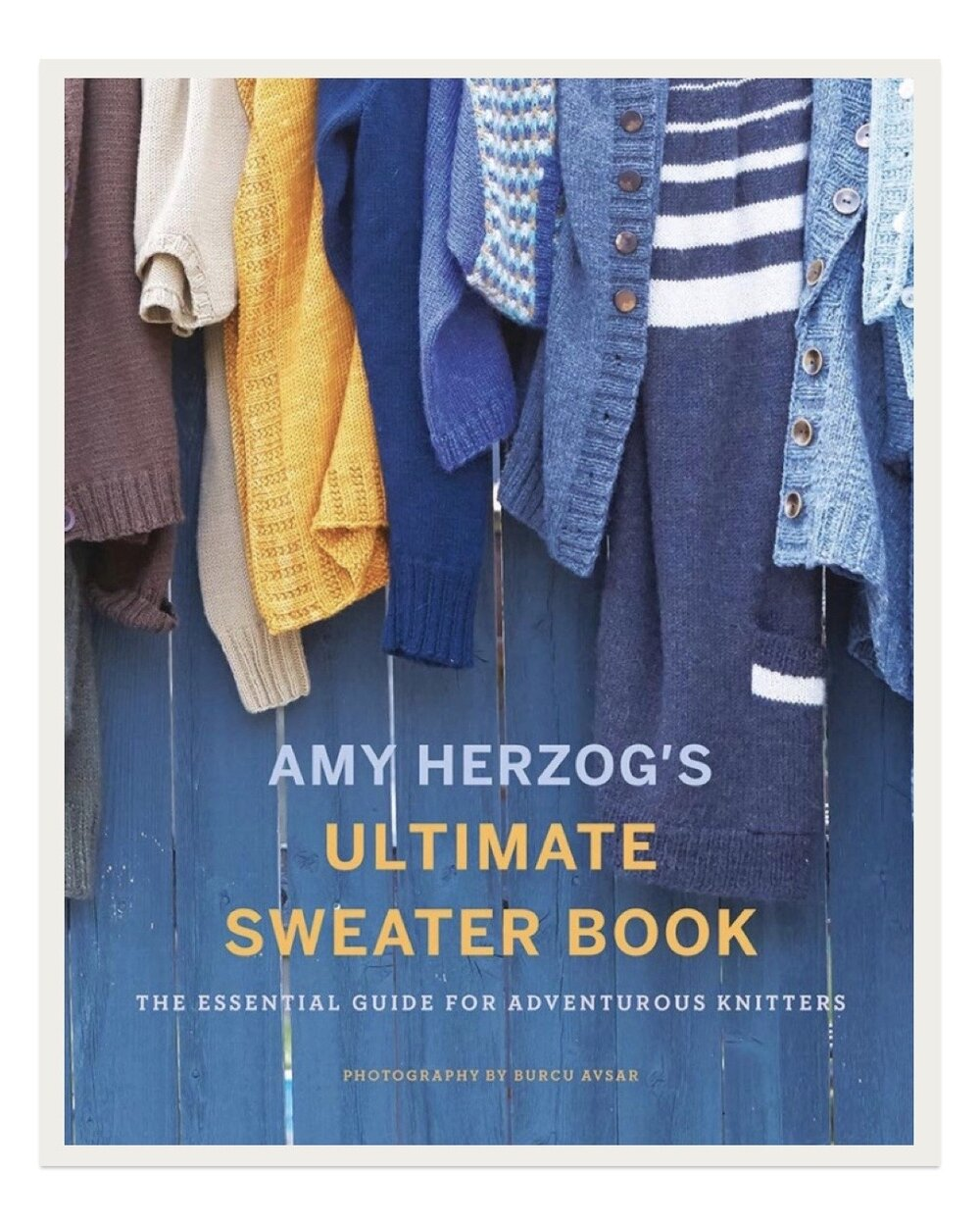 After taking a design class with Amy Herzog at Vogue Knitting Live in January, I knew I had to get her new book. This text is brilliant for those looking to design their own sweaters of all kinds. Full of helpful tips and charts, you'll gain confidence as a designer and have endless inspiration for what to make next.