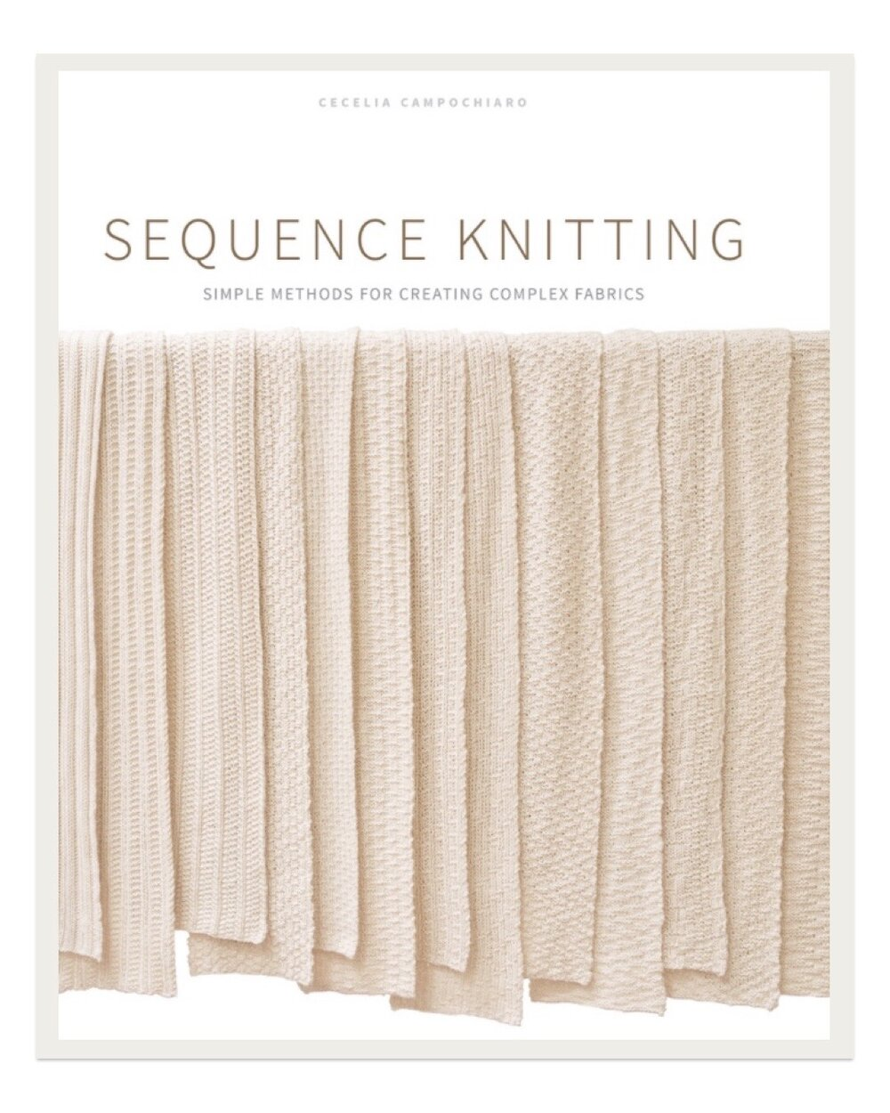 As I designer I love to create projects that use interesting stitches or constructions to make otherwise simple and easy patterns look more complex. I adore all of the simple textures in this book and find it so helpful when looking to jazz up a basic knit designer.